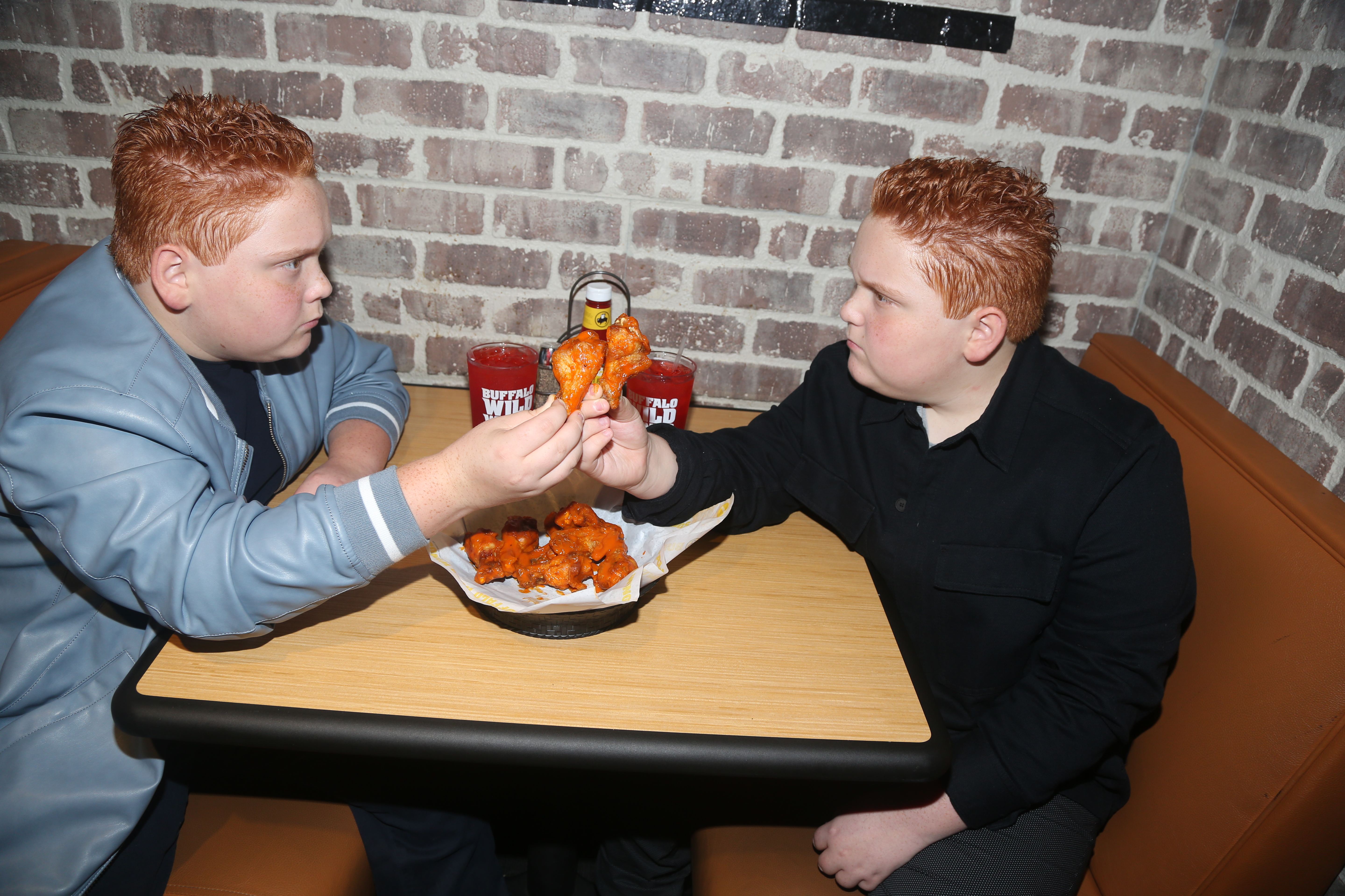 The Royer Twins Visits Buffalo Wild Wings