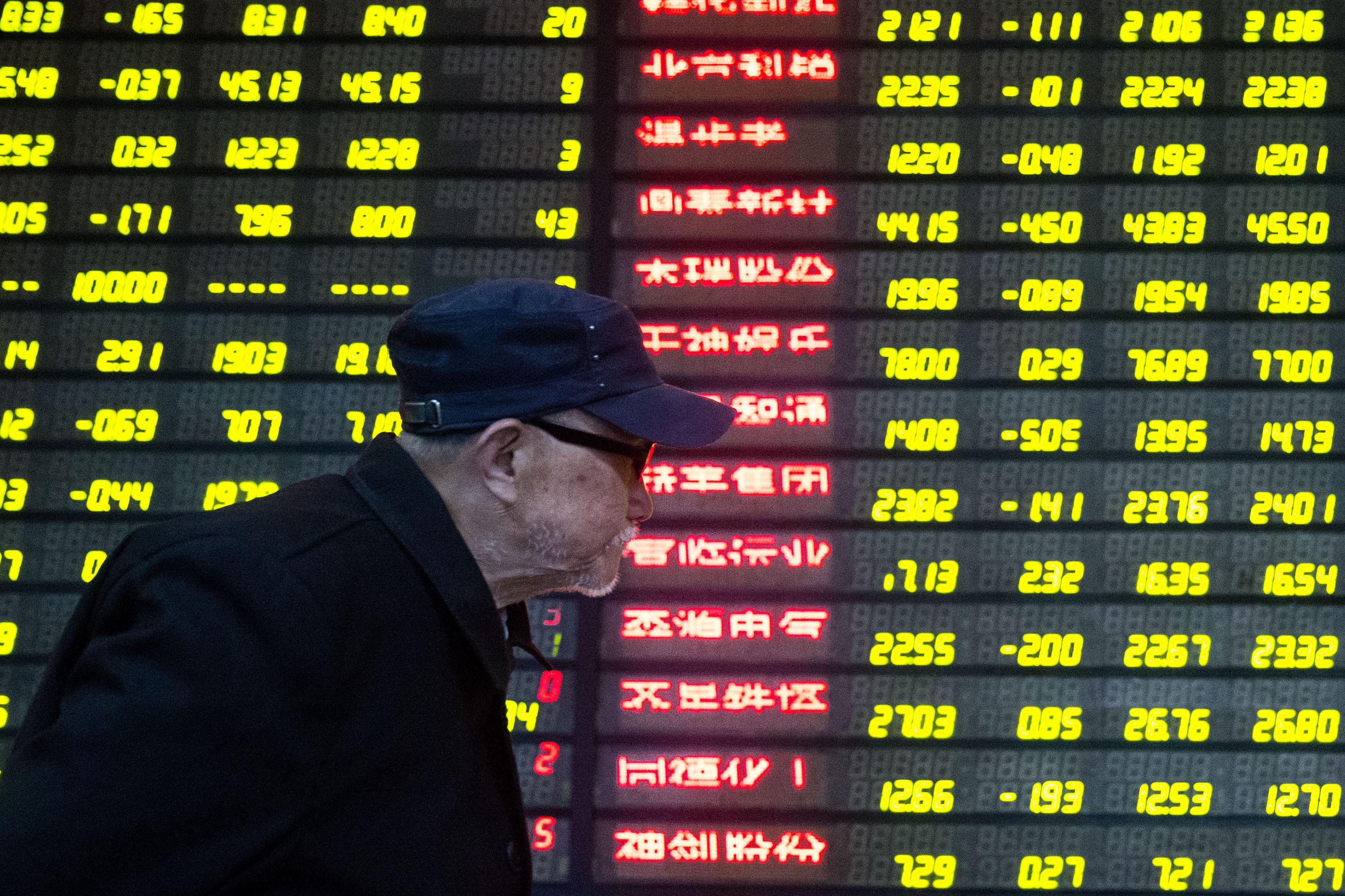 China Stocks Drops As Shenzhen-Hong Kong Stock Connect Launches