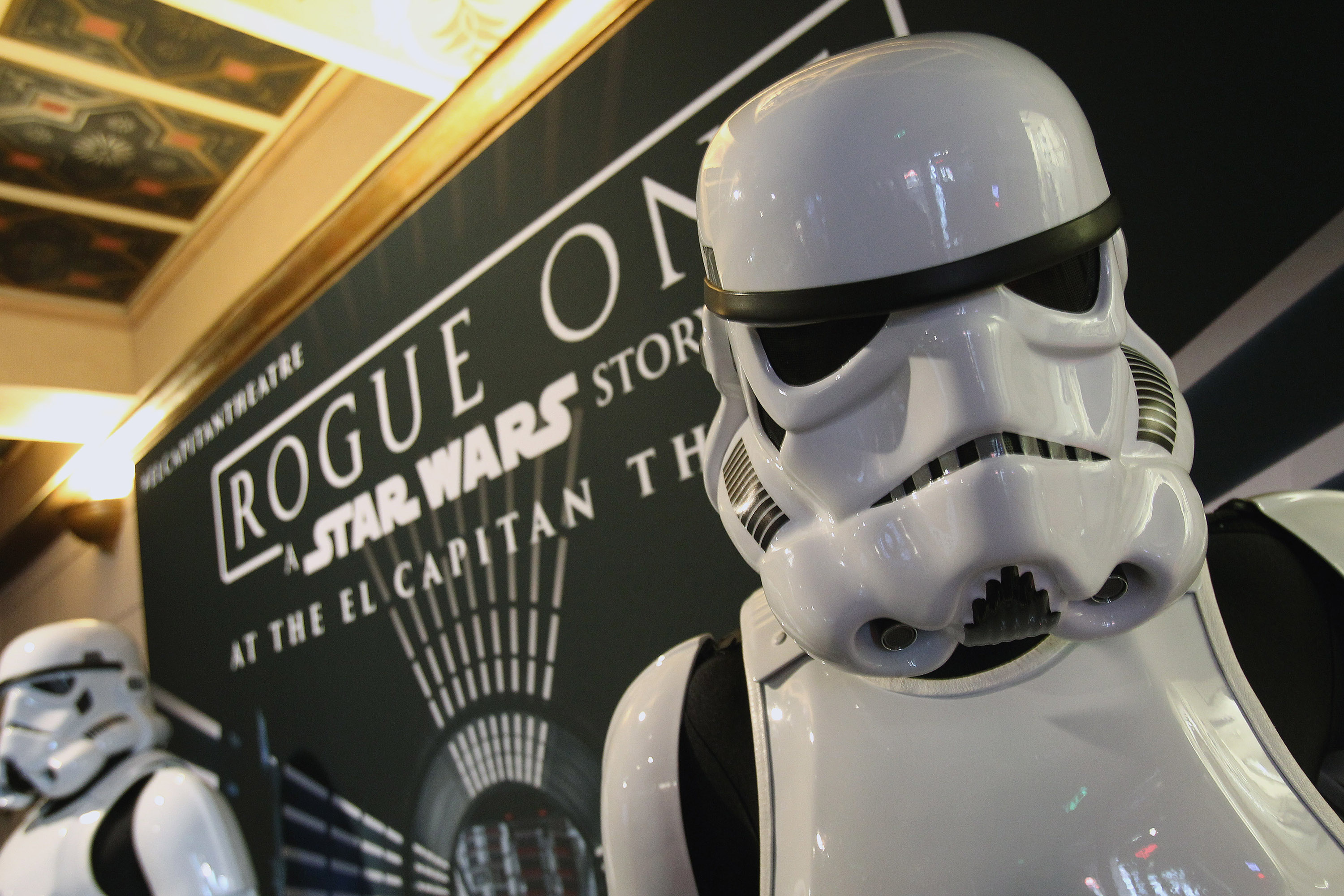 "Opening Night Celebration Of Walt Disney Pictures And Lucasfilm's ""Rogue One: A Star Wars Story"" At El Capitan Theatre"