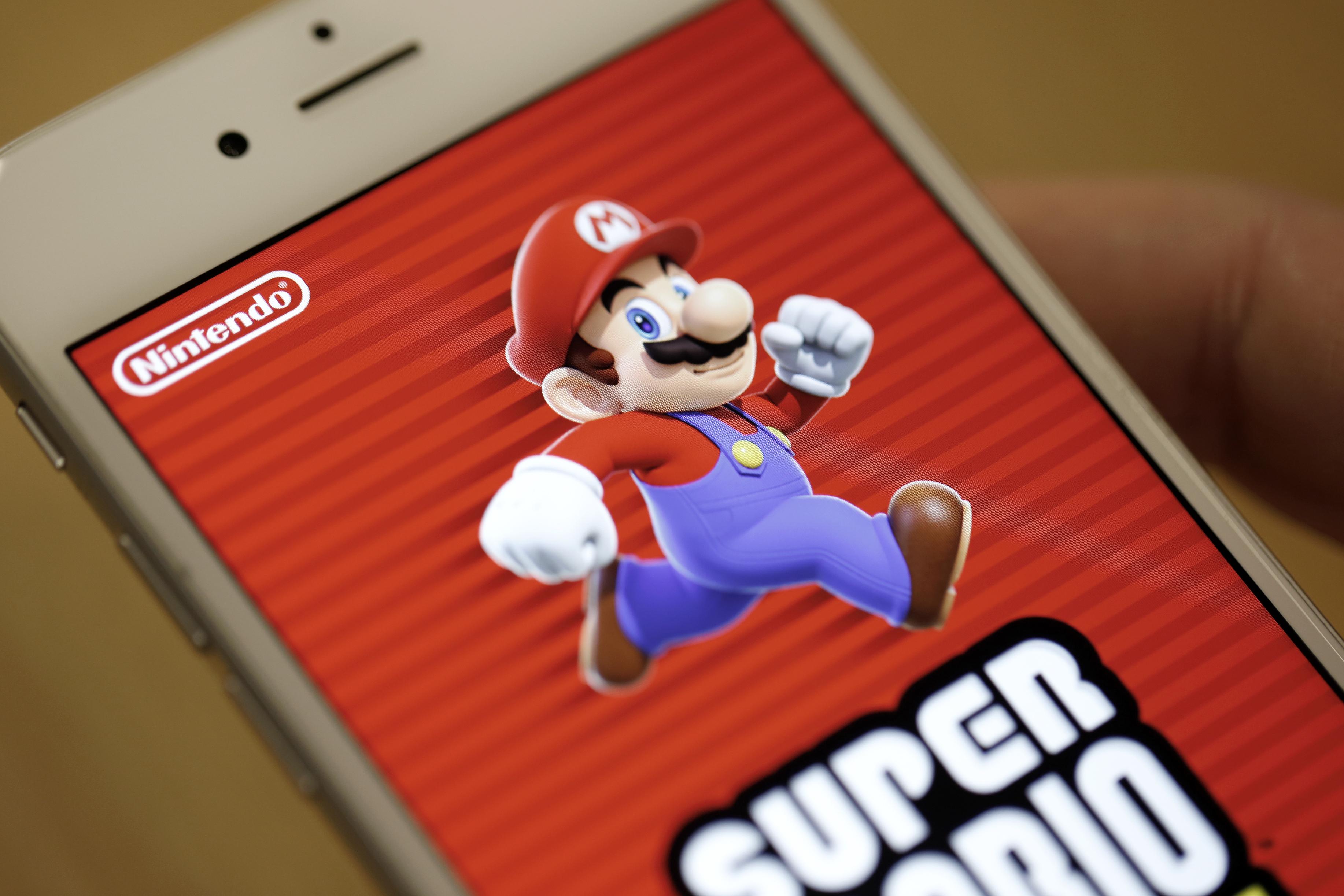 Debut Of Nintendo Co. Super Mario Run In Japan