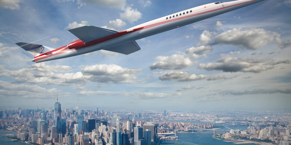 Supersonic Travel Is Booming