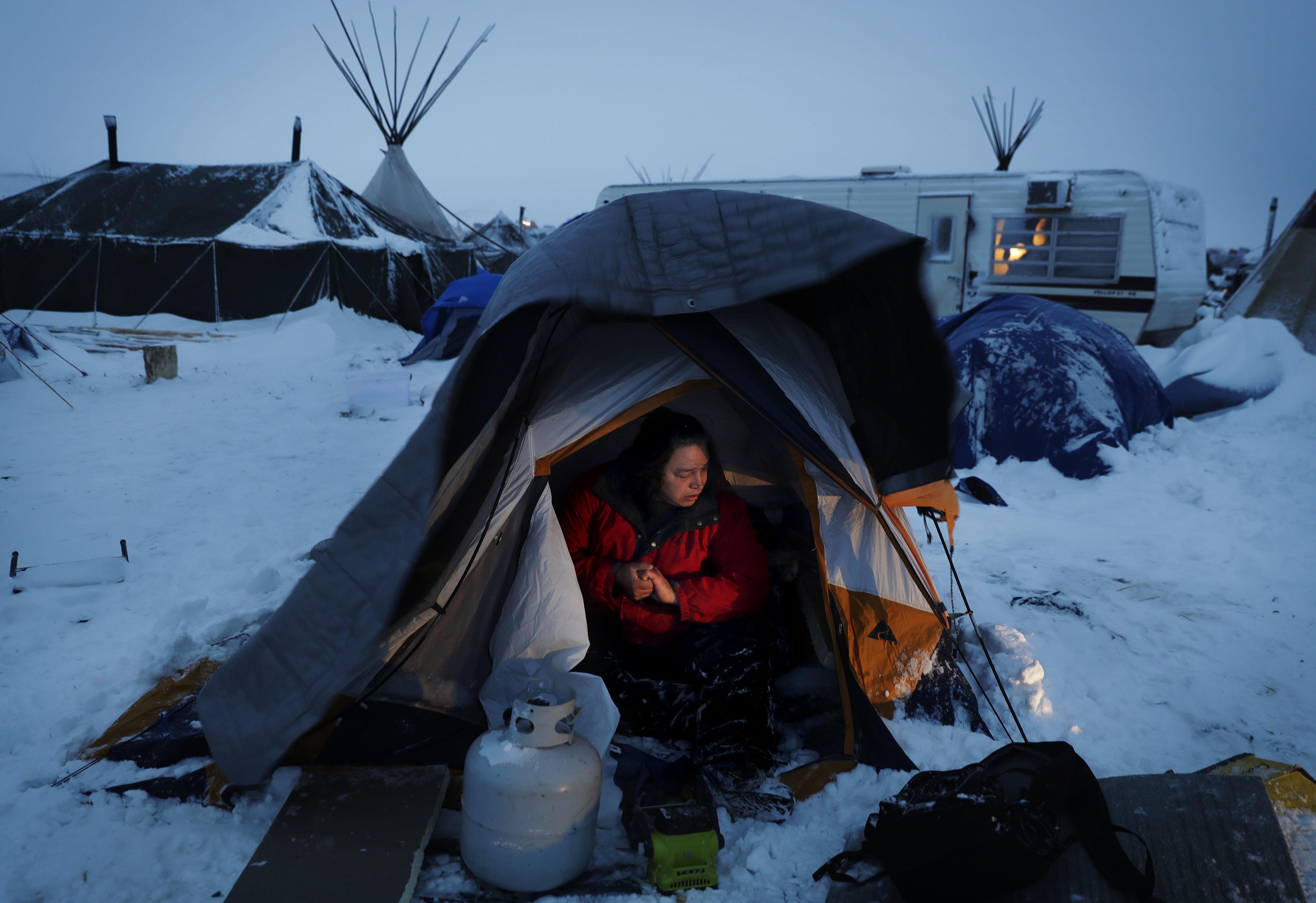Oil Pipeline Protest North Dakota 2016