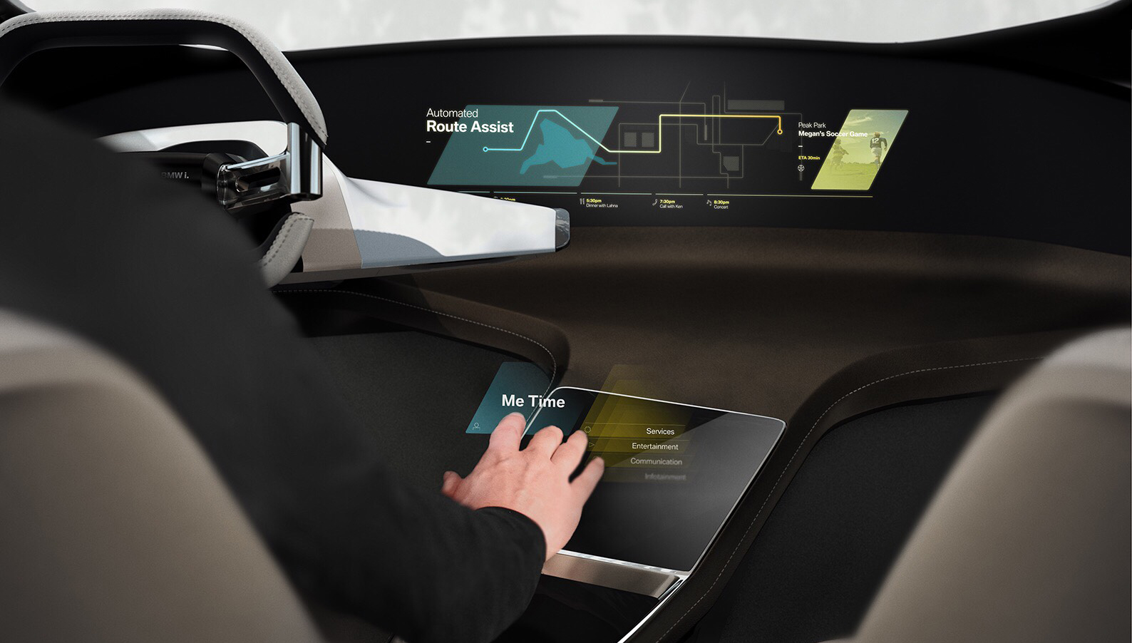 BMW will debut the HoloActive Touch at CES 2017 in Las Vegas in January.