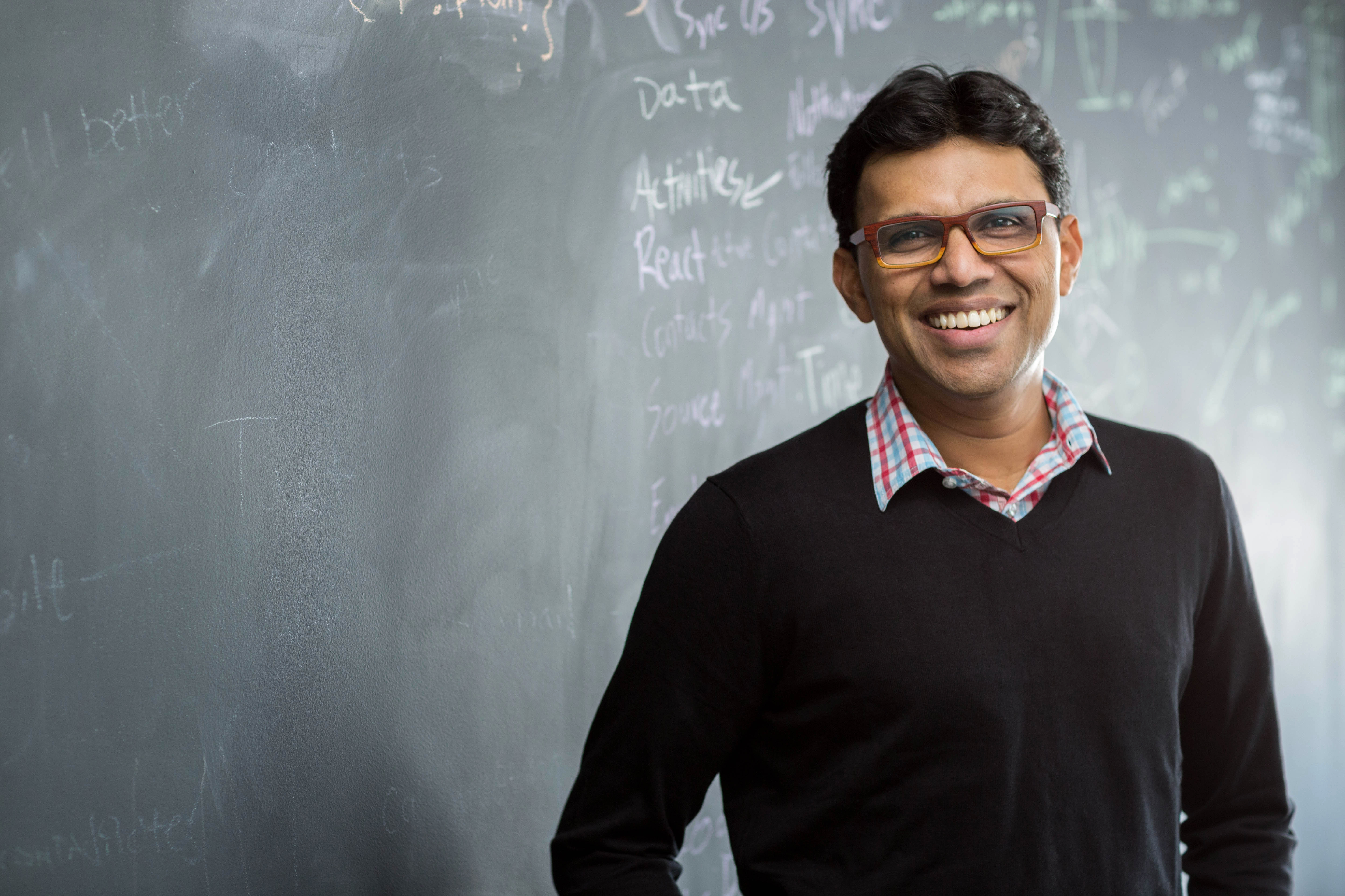 Chuck Ganapathi, founder and CEO of Tact.