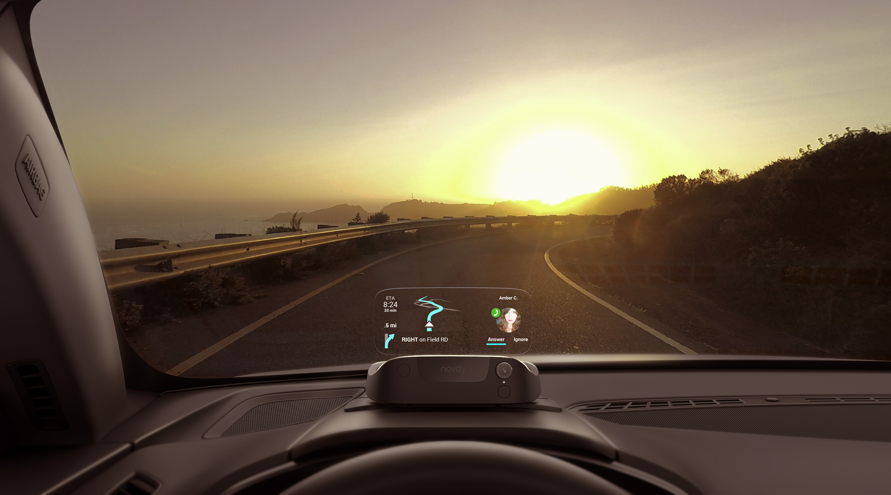 Navdy began selling its heads-up display in October 2016.