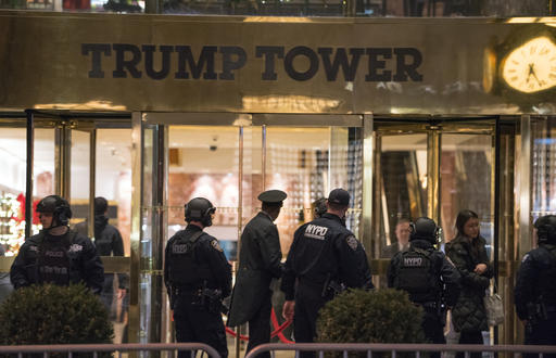 Trump Tower Suspicious Package