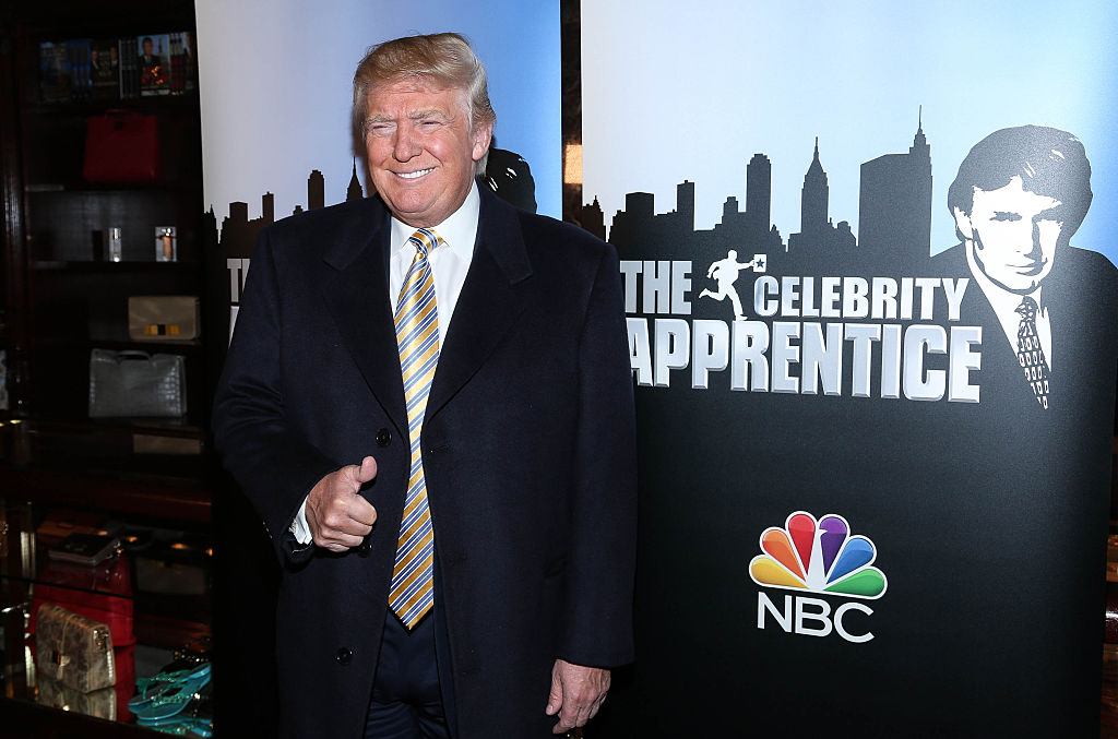 "Donald Trump attends ""Celebrity Apprentice"" Red Carpet Event at Trump Tower on Jan. 20, 2015 in New York City."