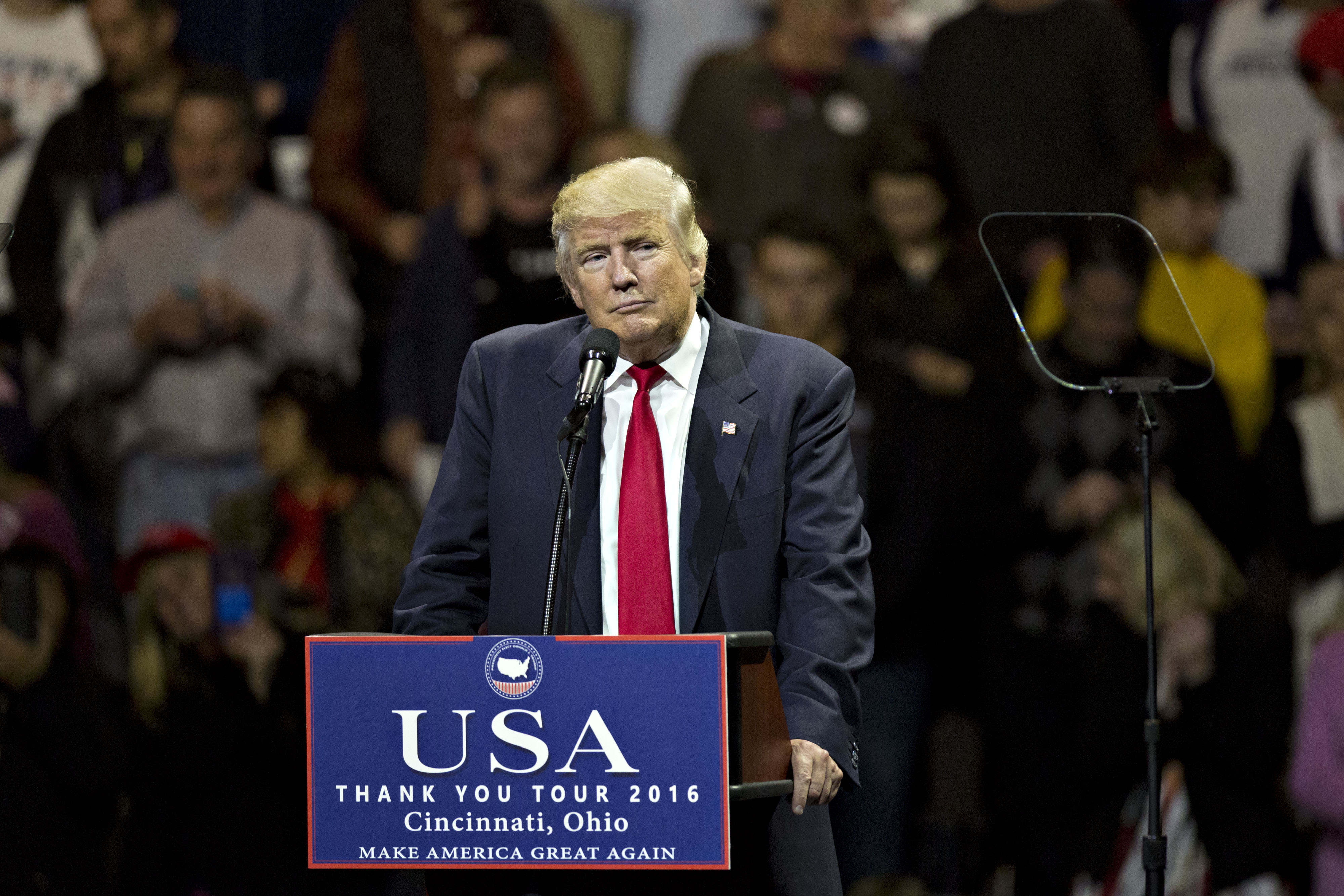 President-Elect Donald Trump Holds Ohio 'Thank You' Tour Rally