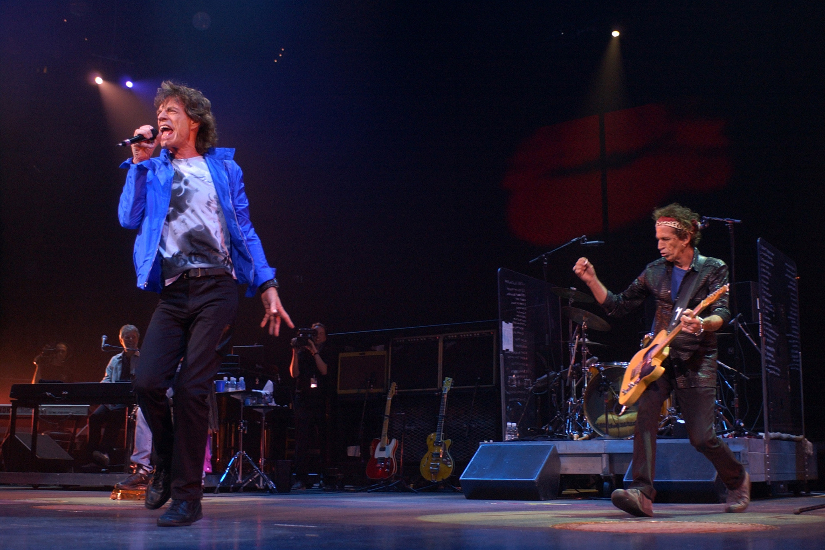 The Stones kick off the Licks tour in Boston.