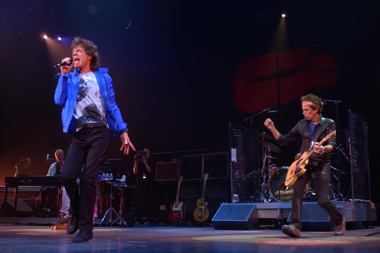 The Stones kick off the Licks tour in Boston.