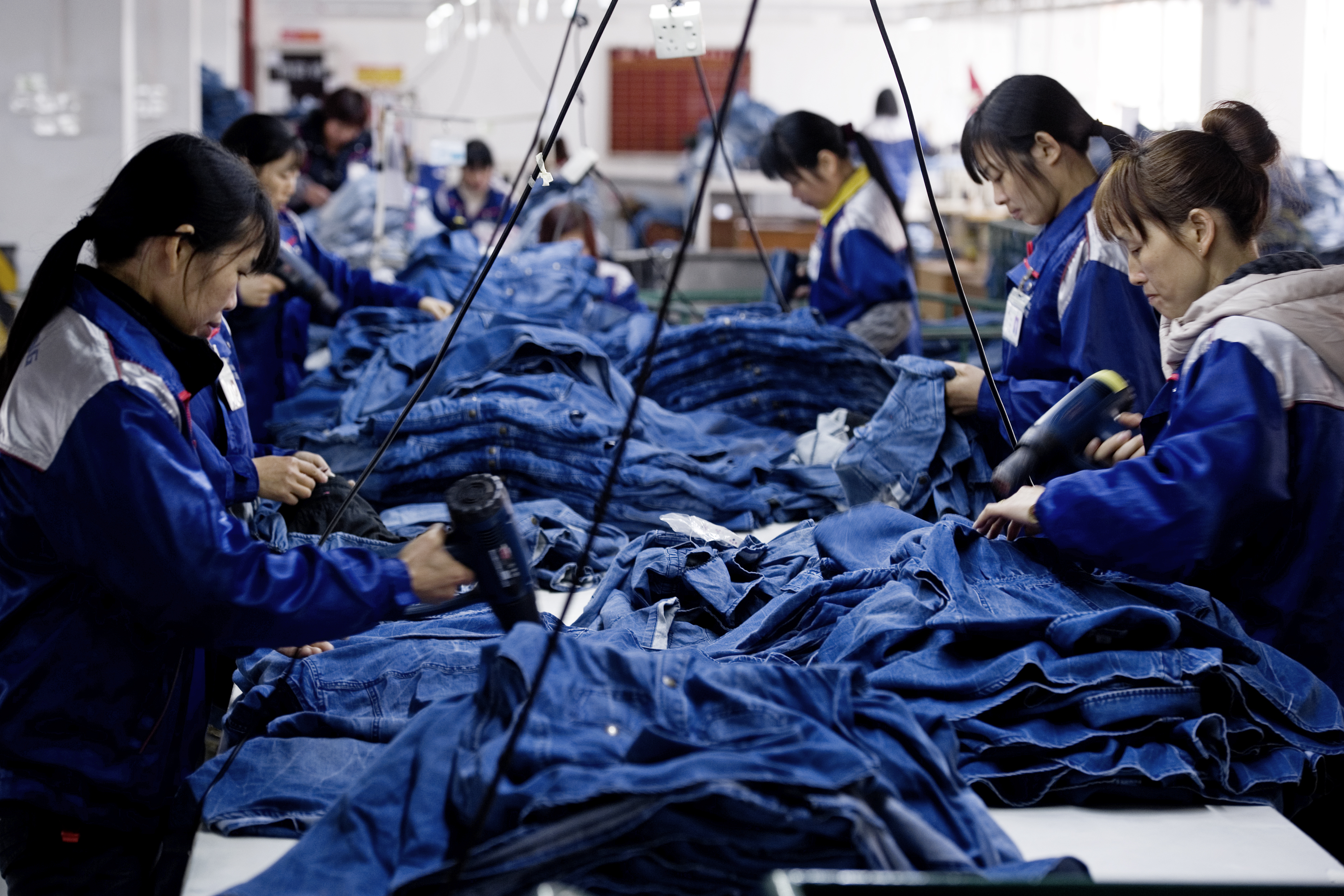 Denim Jean Production In China