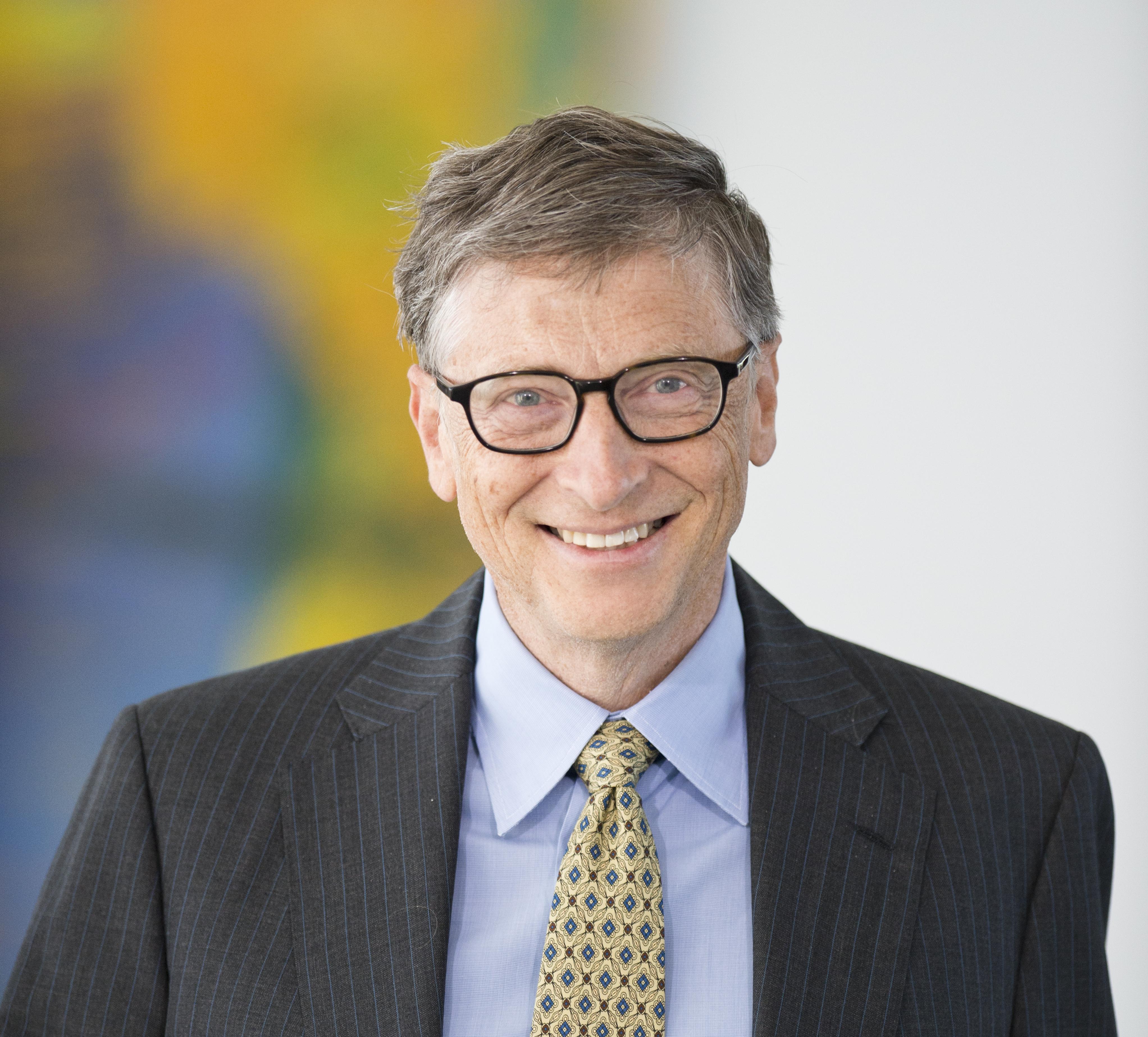 Chancellor Merkel Meets With Bill Gates