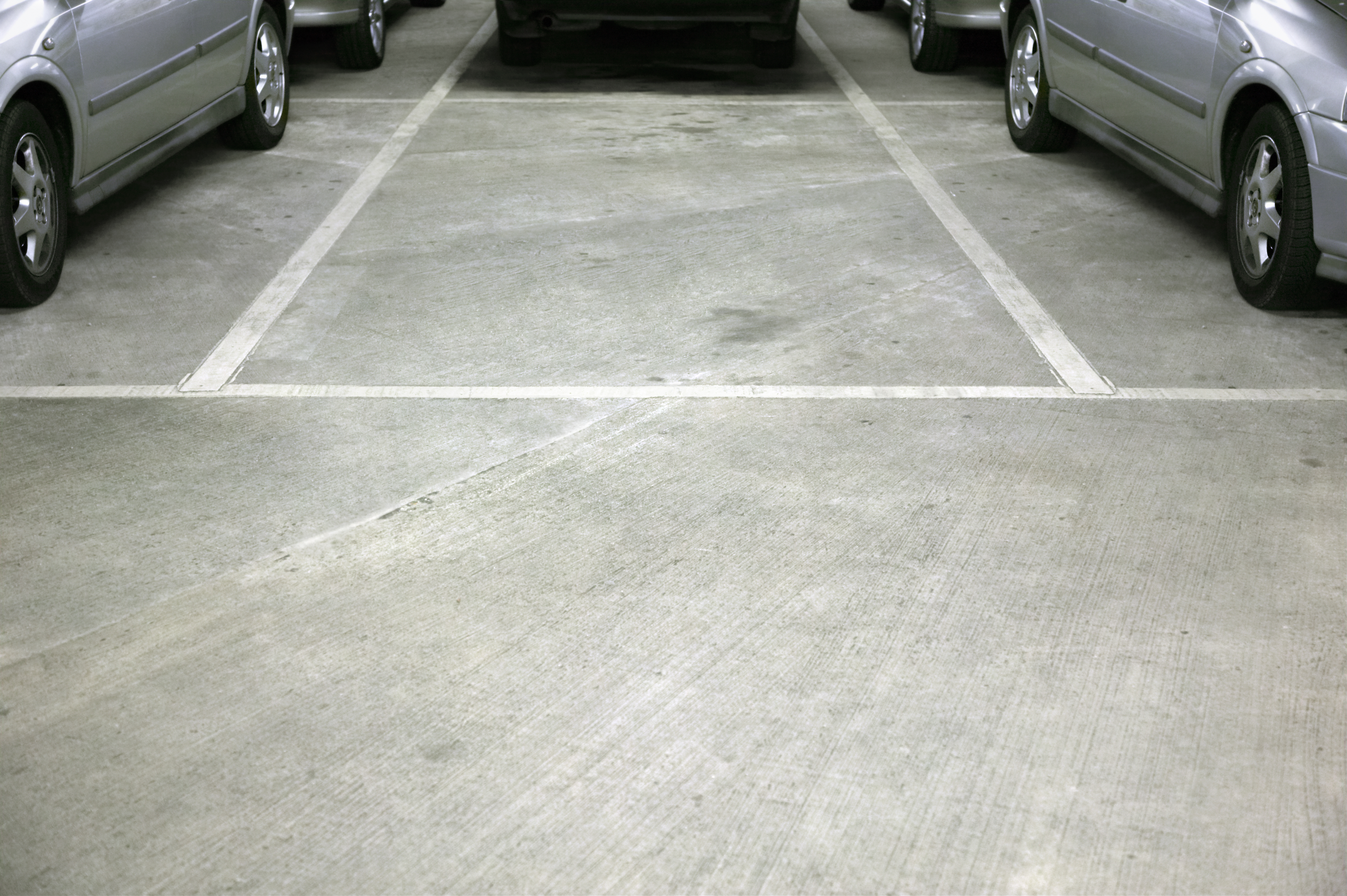 Empty space in car park