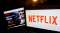 Netflix Inc. Illustrations Ahead Of Earnings Figures