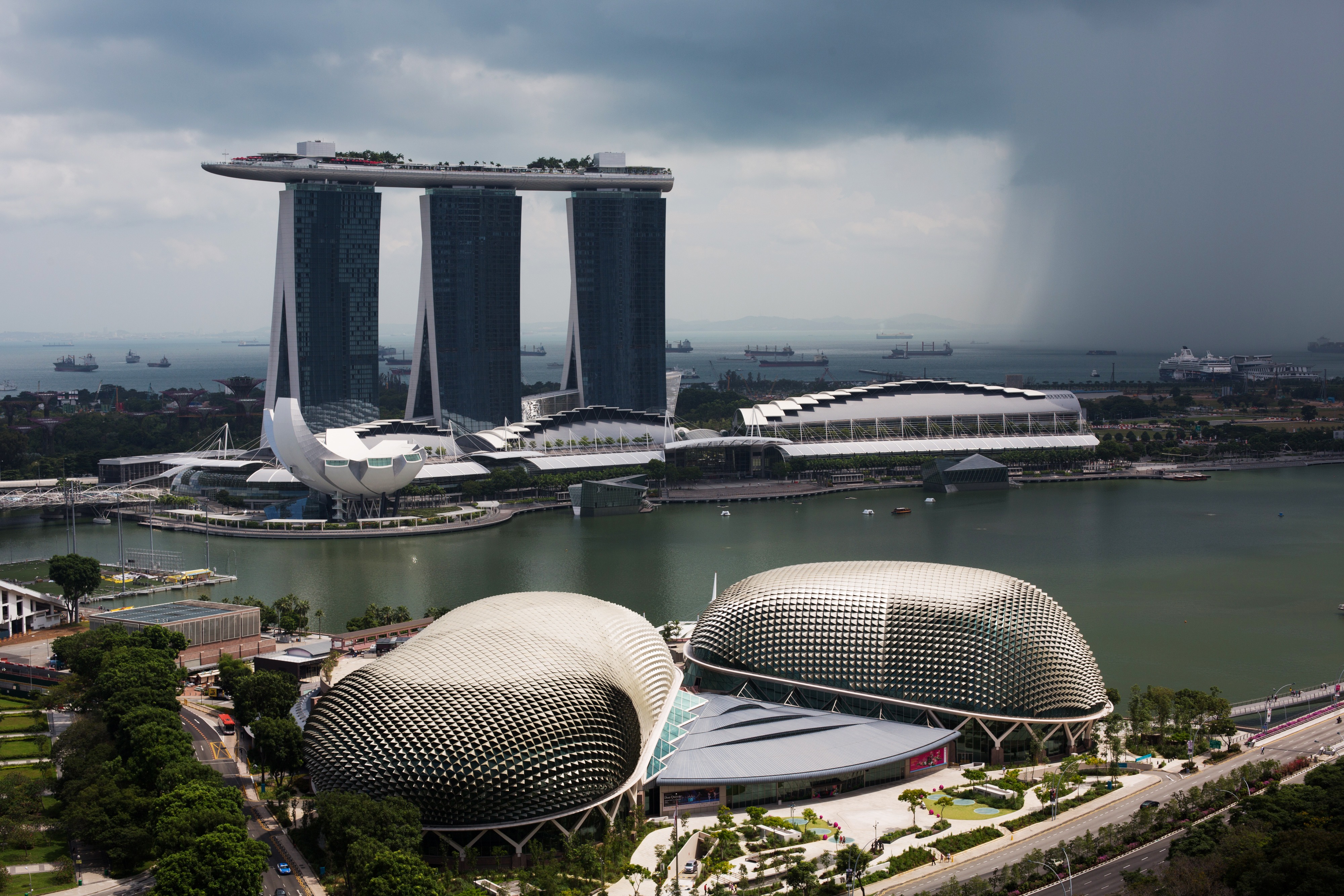City Views As Singapore To Auction Mobile Spectrum To Lure Fourth Provider
