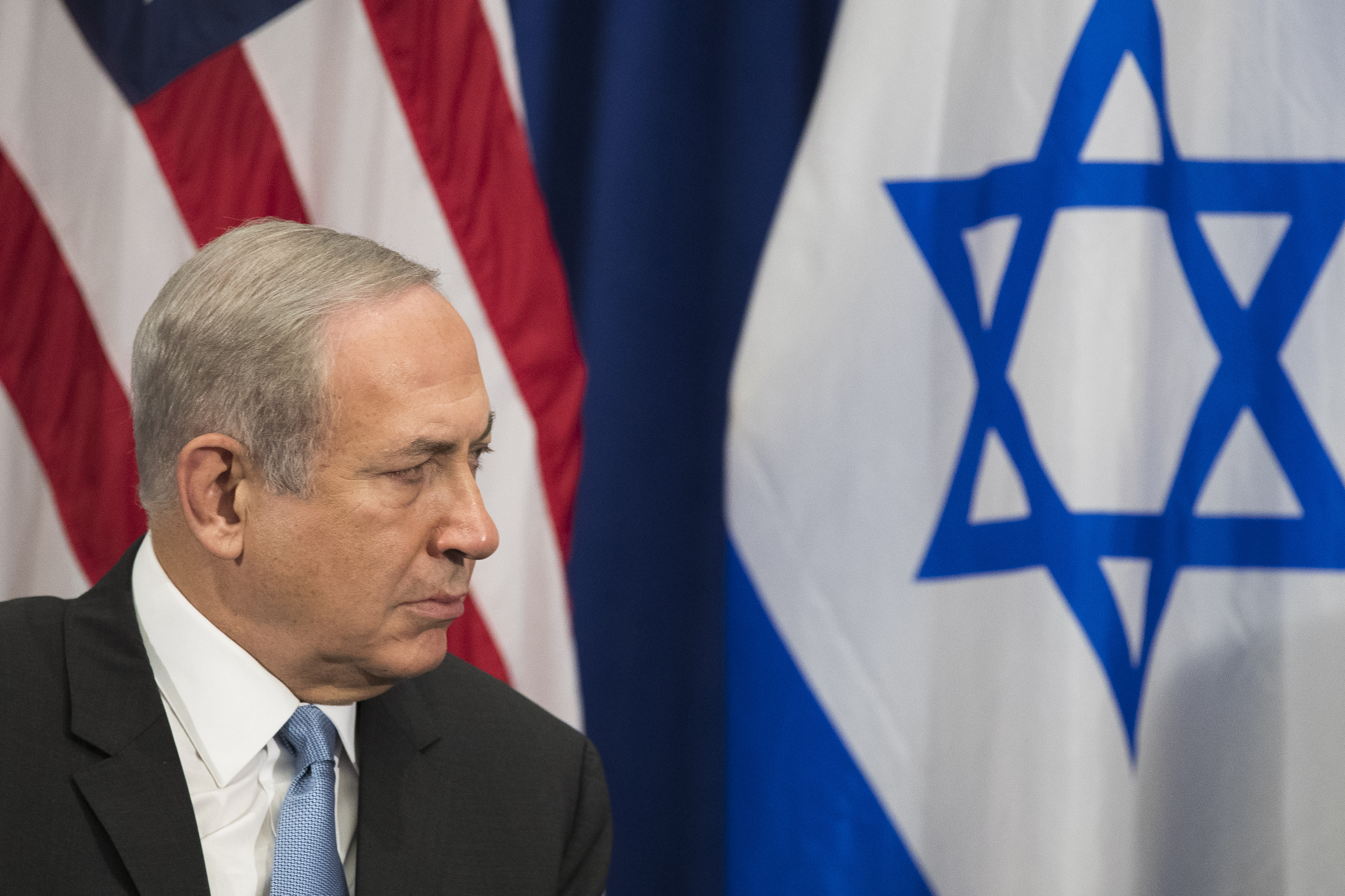 President Obama Holds Bilateral Meeting With Isreali Prime Minister Benjamin Netanyahu