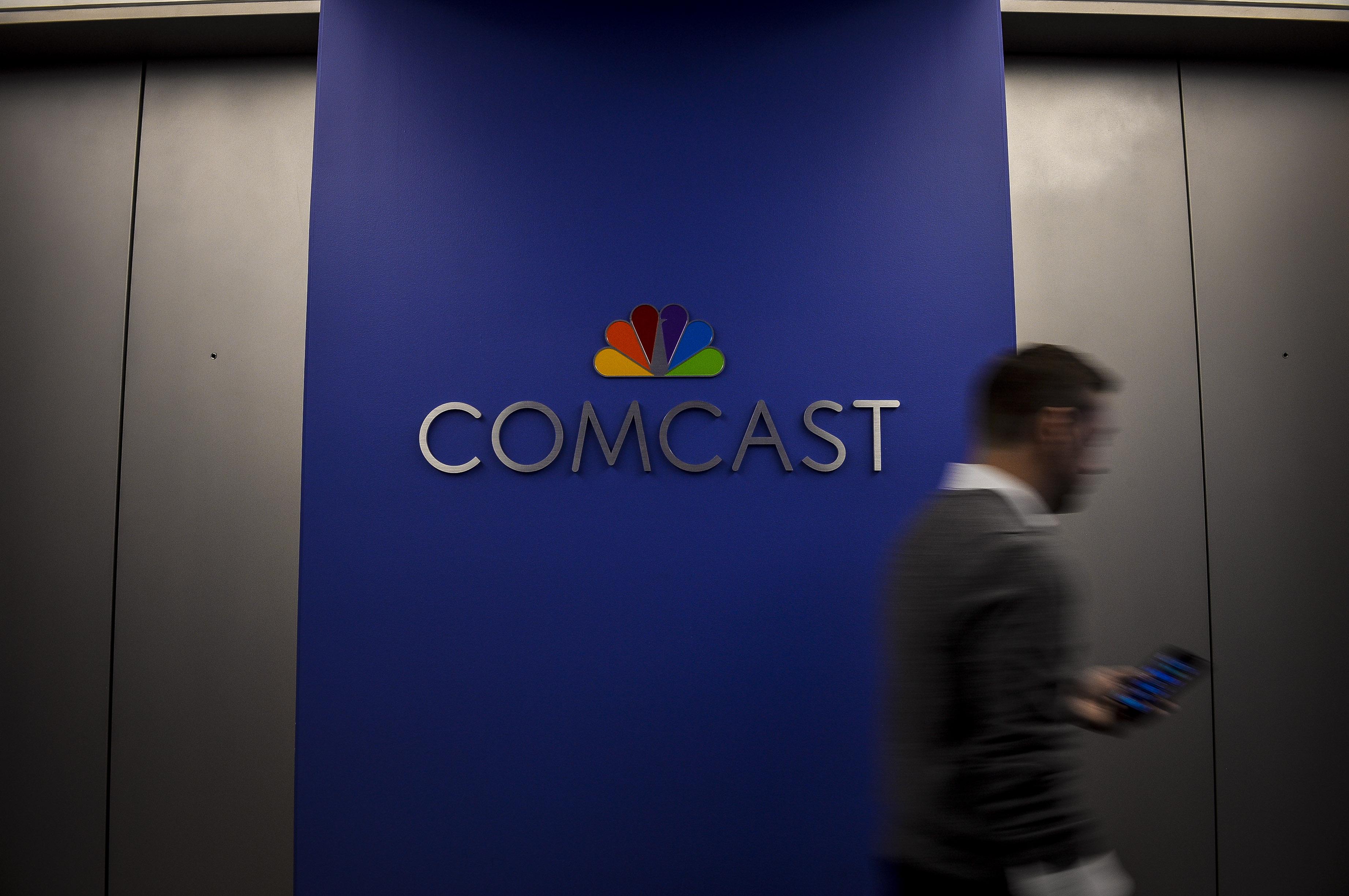 Inside Comcast Corp. Headquarters Ahead Of Earnings Figures