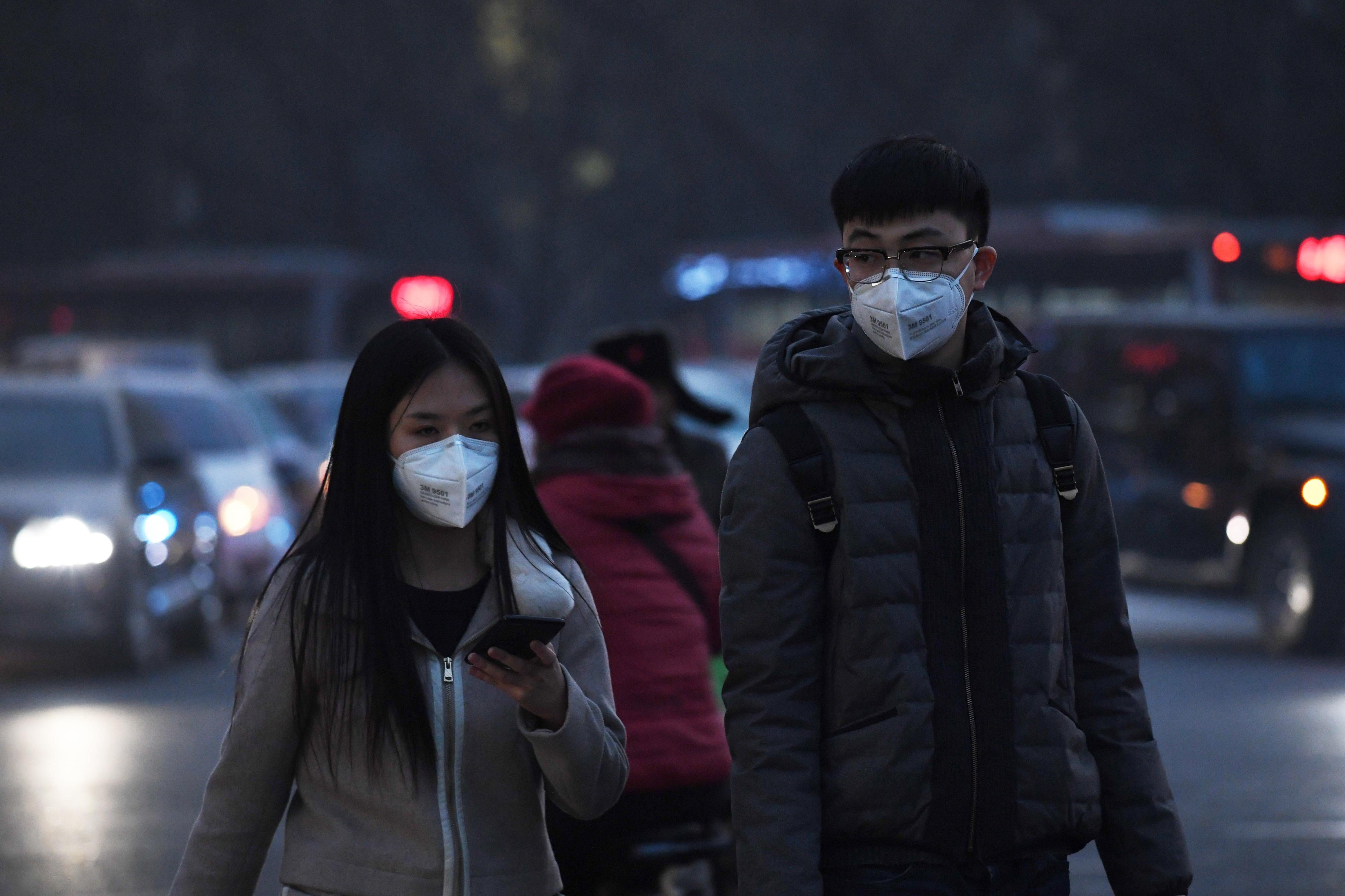 CHINA-ENVIRONMENT-SMOG