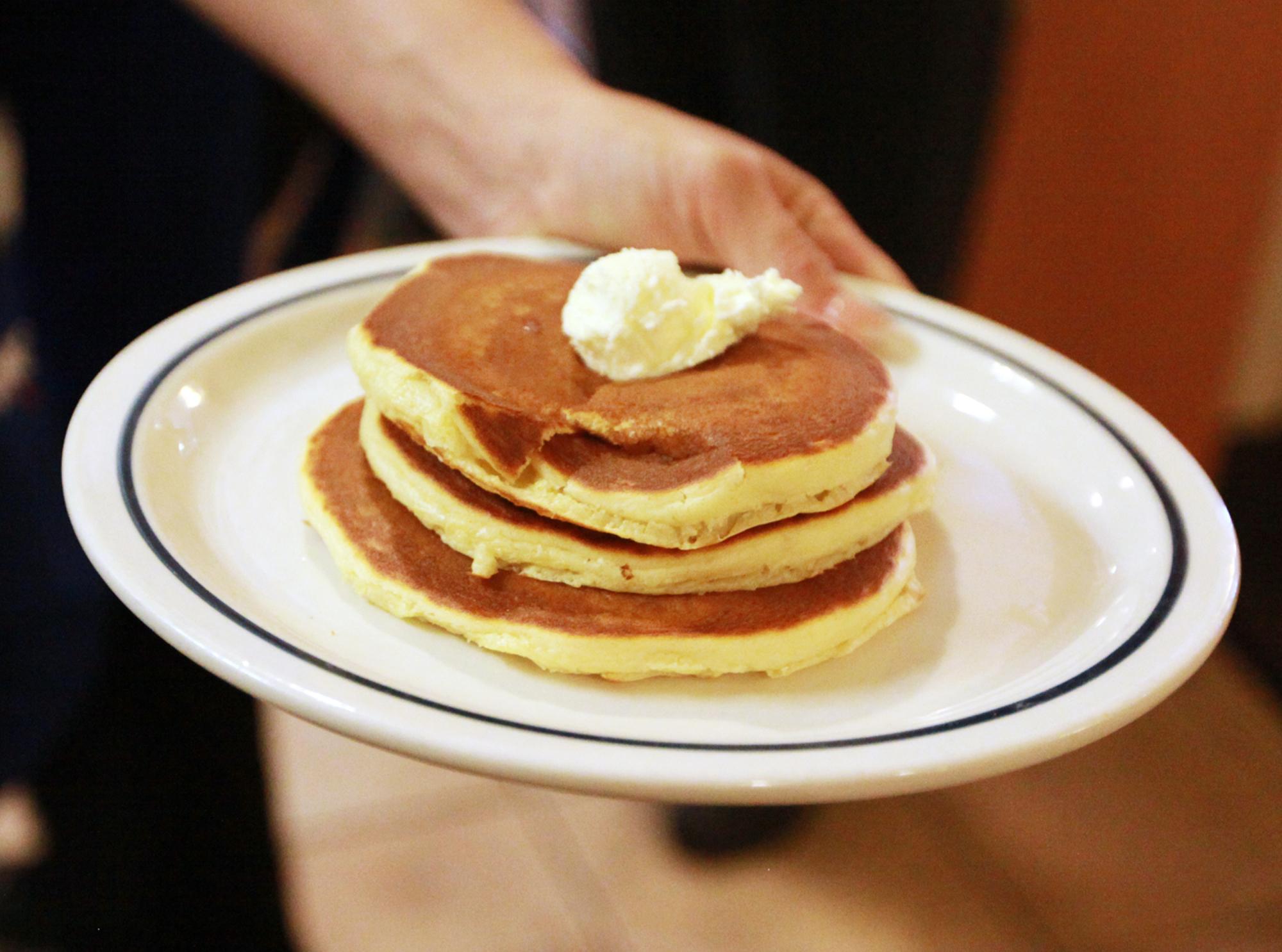 Pancakes on National Pancake Day