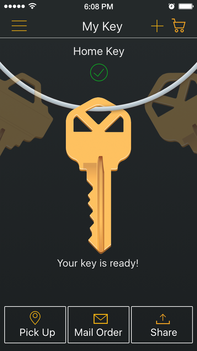 KeyMe allows you to take a photo of your key to make copies.