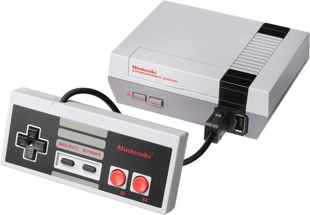 The NES Classic Edition from Nintendo.