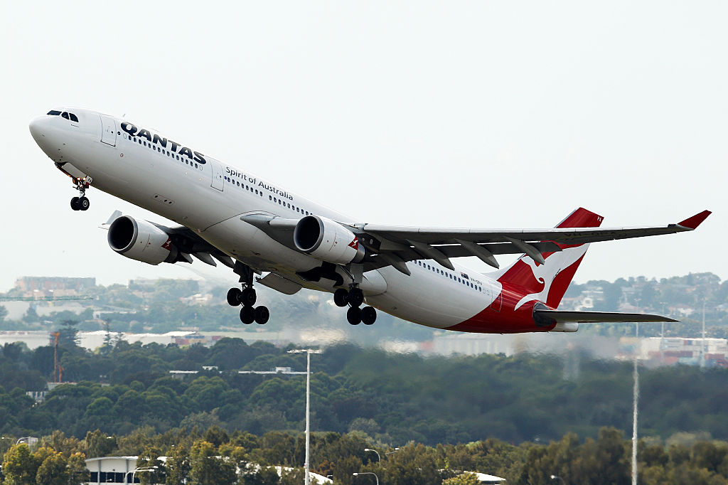 Qantas Airways Ltd. And Jetstar Airways Aircraft Ahead Of Half-Year Results