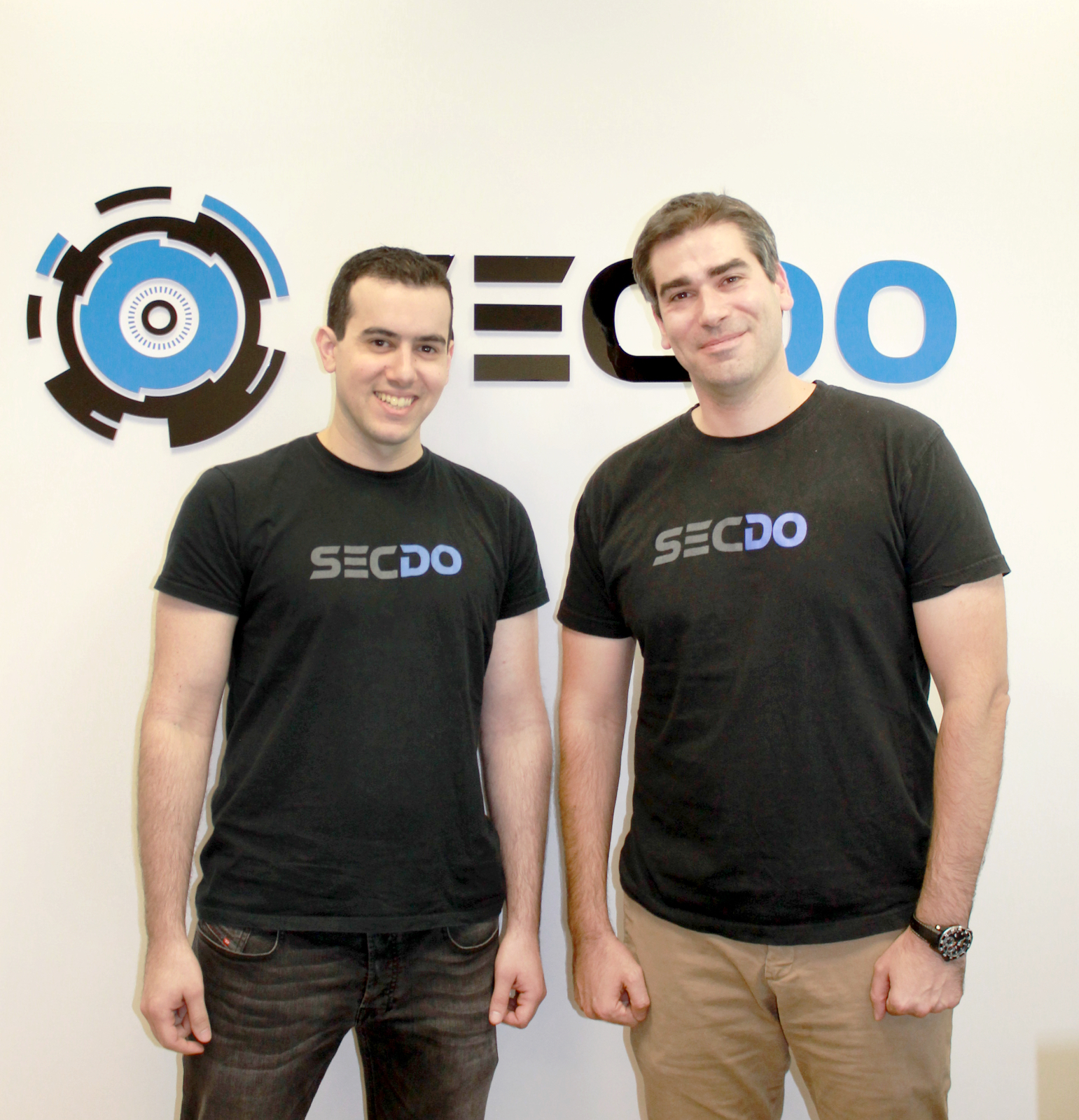 SECDO cofounders: chief tech officer Gil Barak (left), and CEO Shai Morag (right)