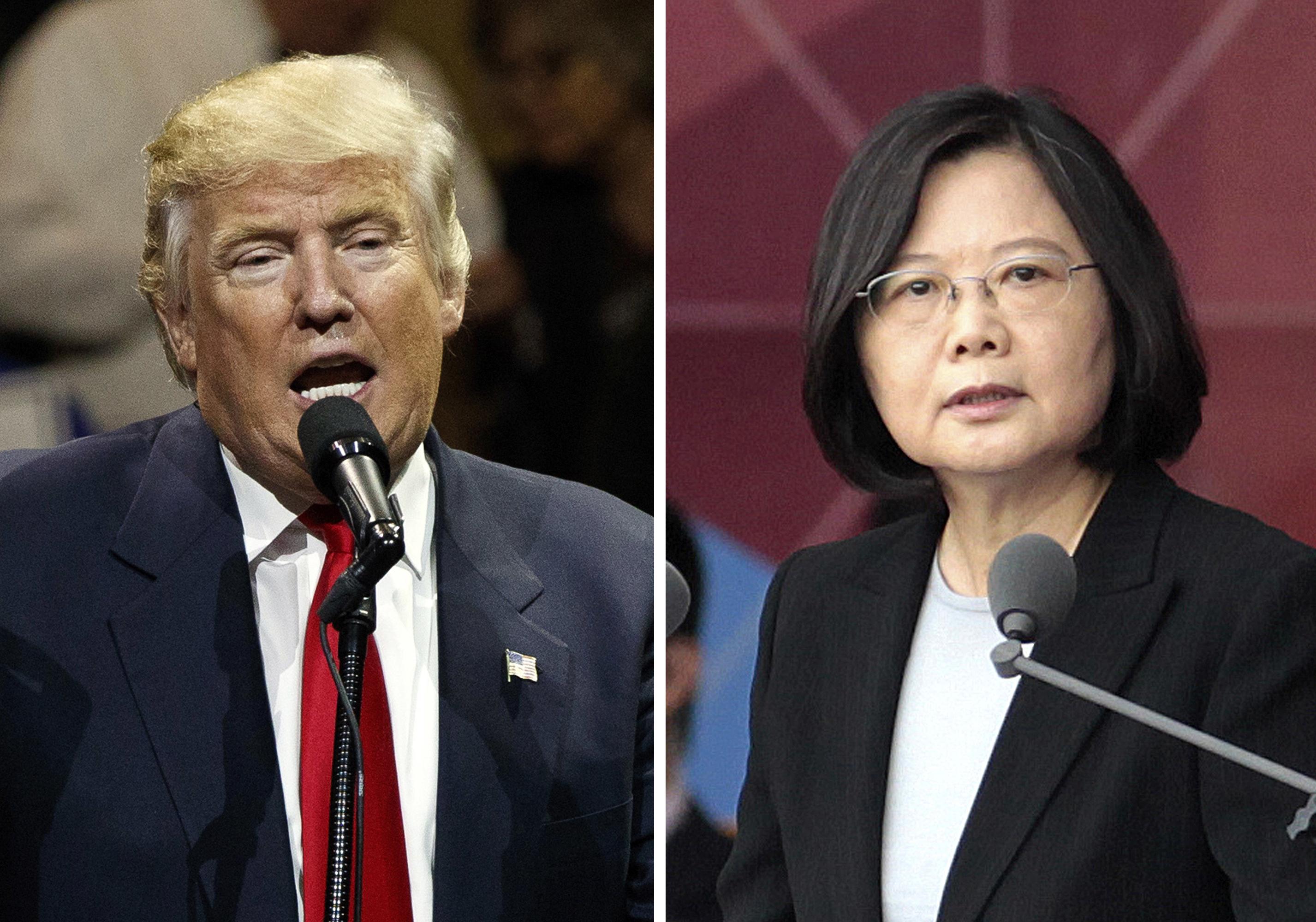 Donald Trump, Tsai Ing-wen