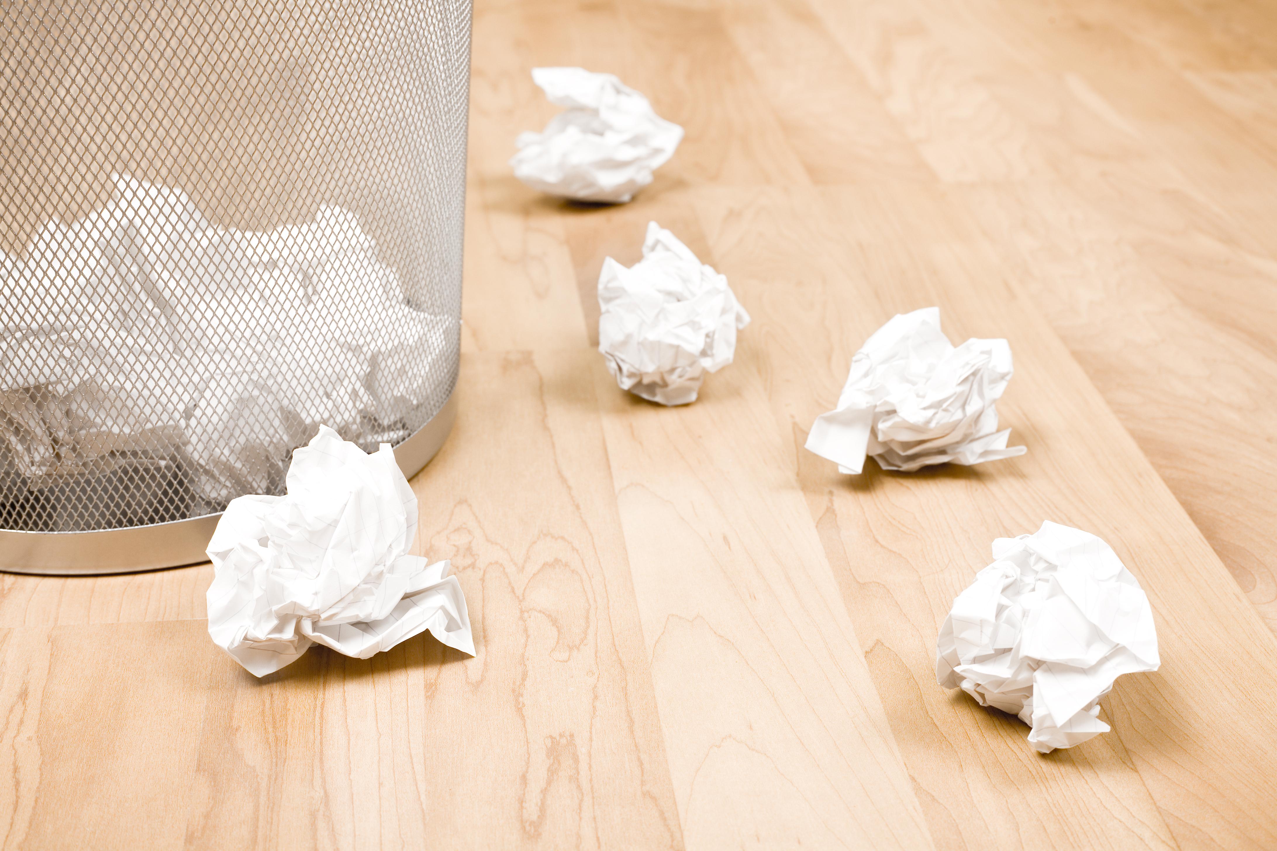Trash Bin - Writer's Block