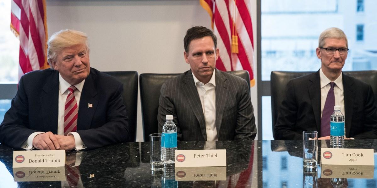 Peter Thiel's Palantir is Powering Trump's Immigration Agenda