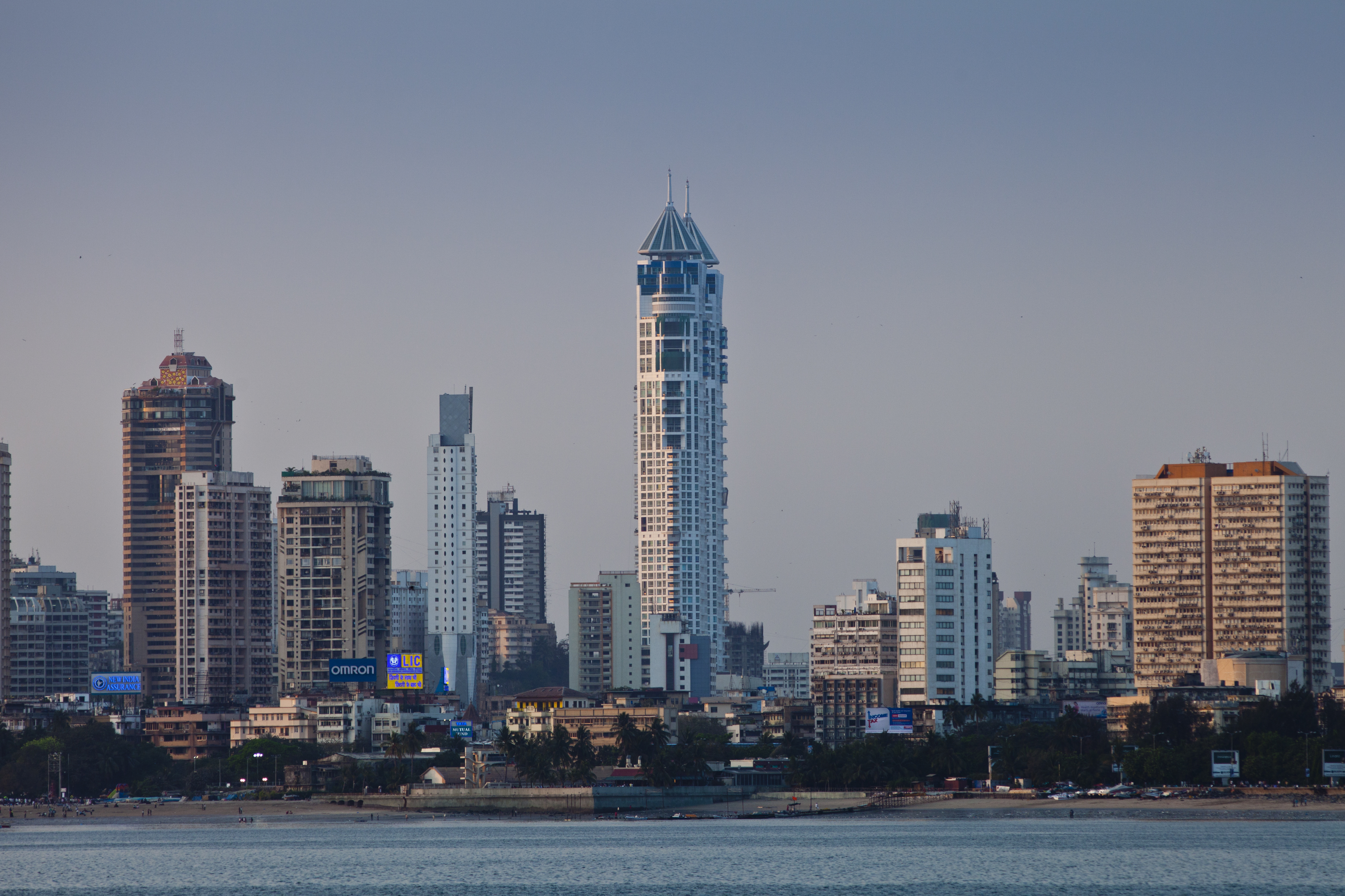 Twin Towers & Business District, South Mumbai, India