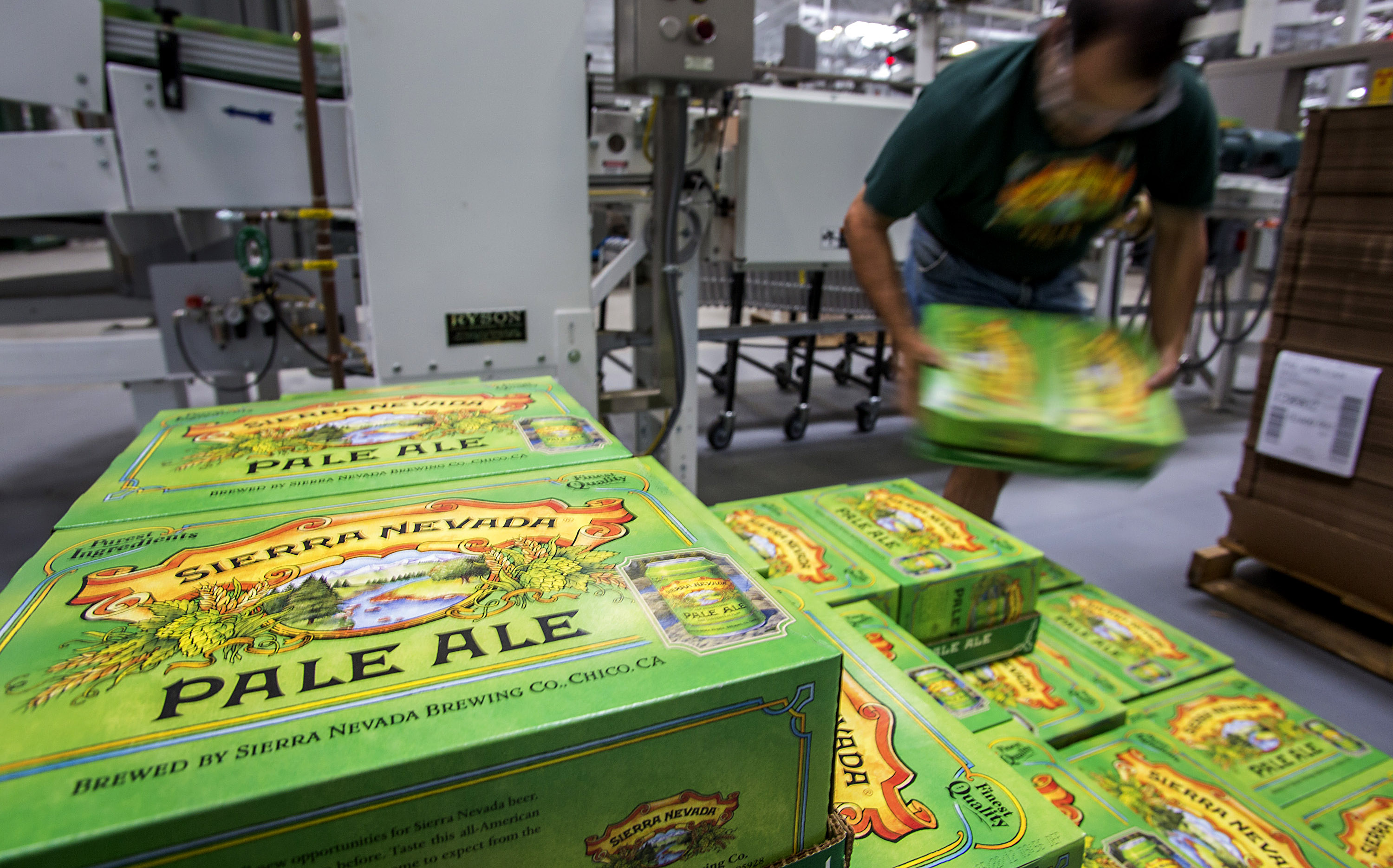 Sierra Nevada Brewing Co. Manufactures New Canned Line