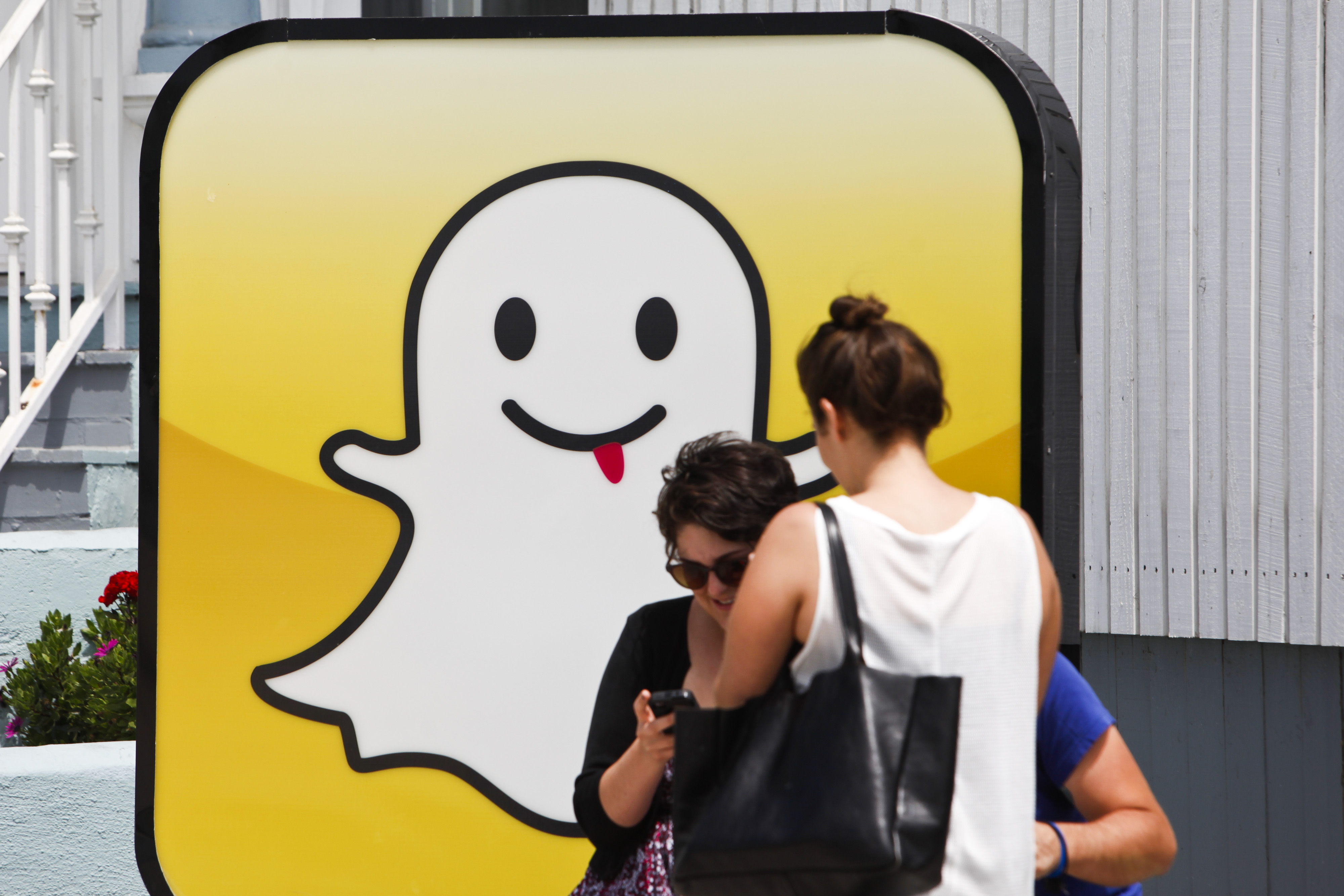 Headquarters Of Photo And Video Sharing Application Snapchat