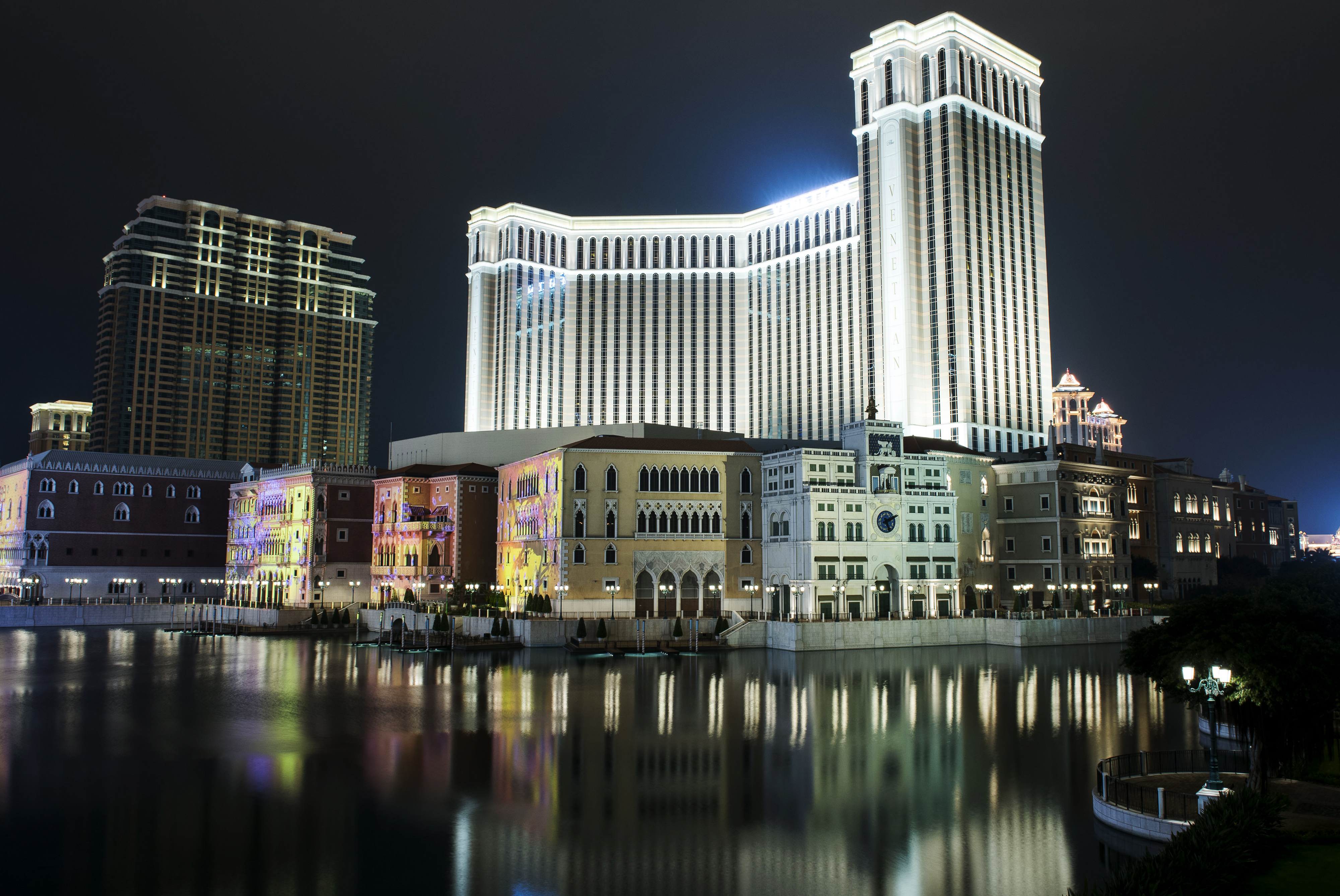 Views Of Casinos As Melco Crown Entertainment Ltd. And MGM Resorts International Announce Earnings Results