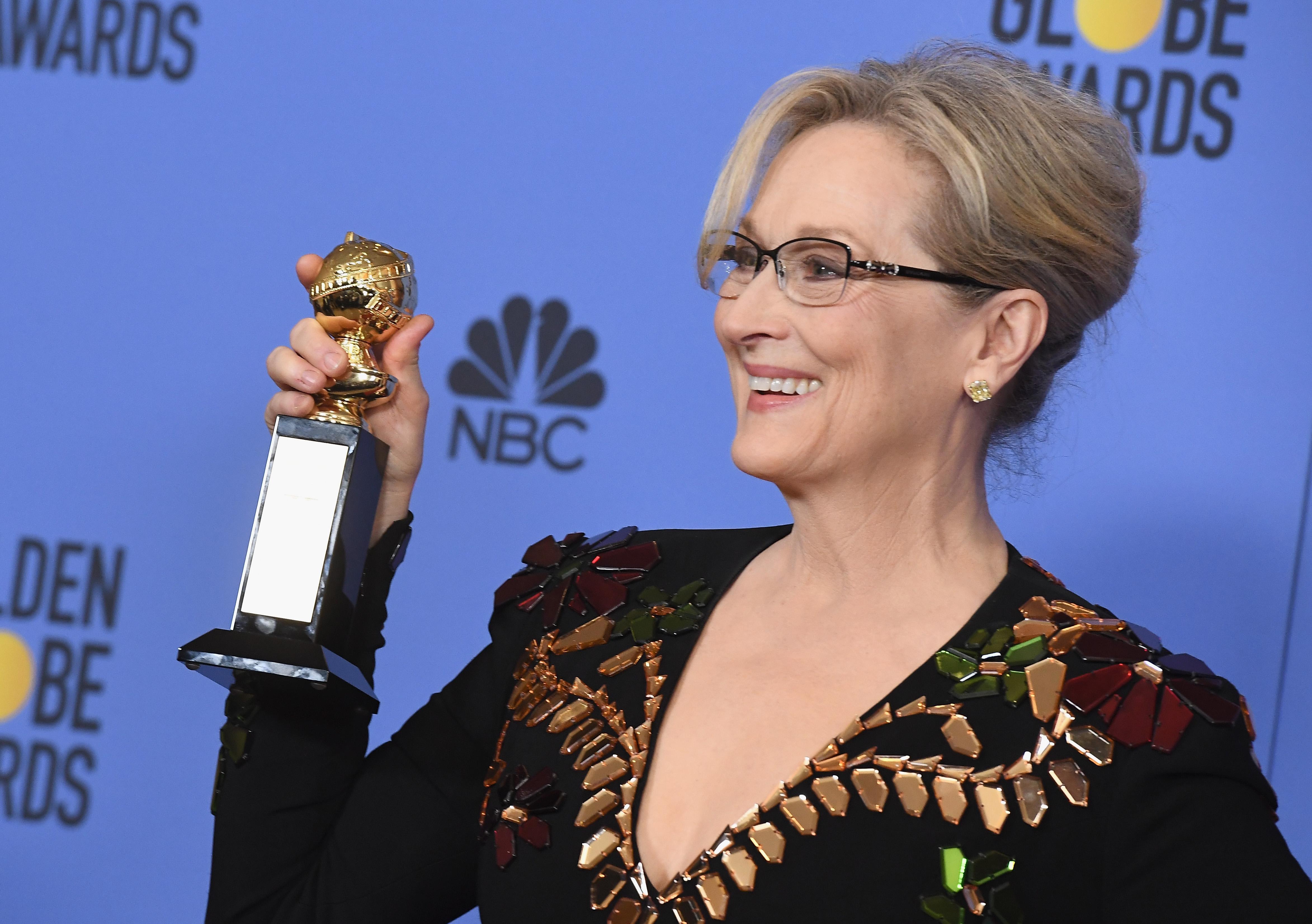 """NBC's """"74th Annual Golden Globe Awards"""" - Press Room"""