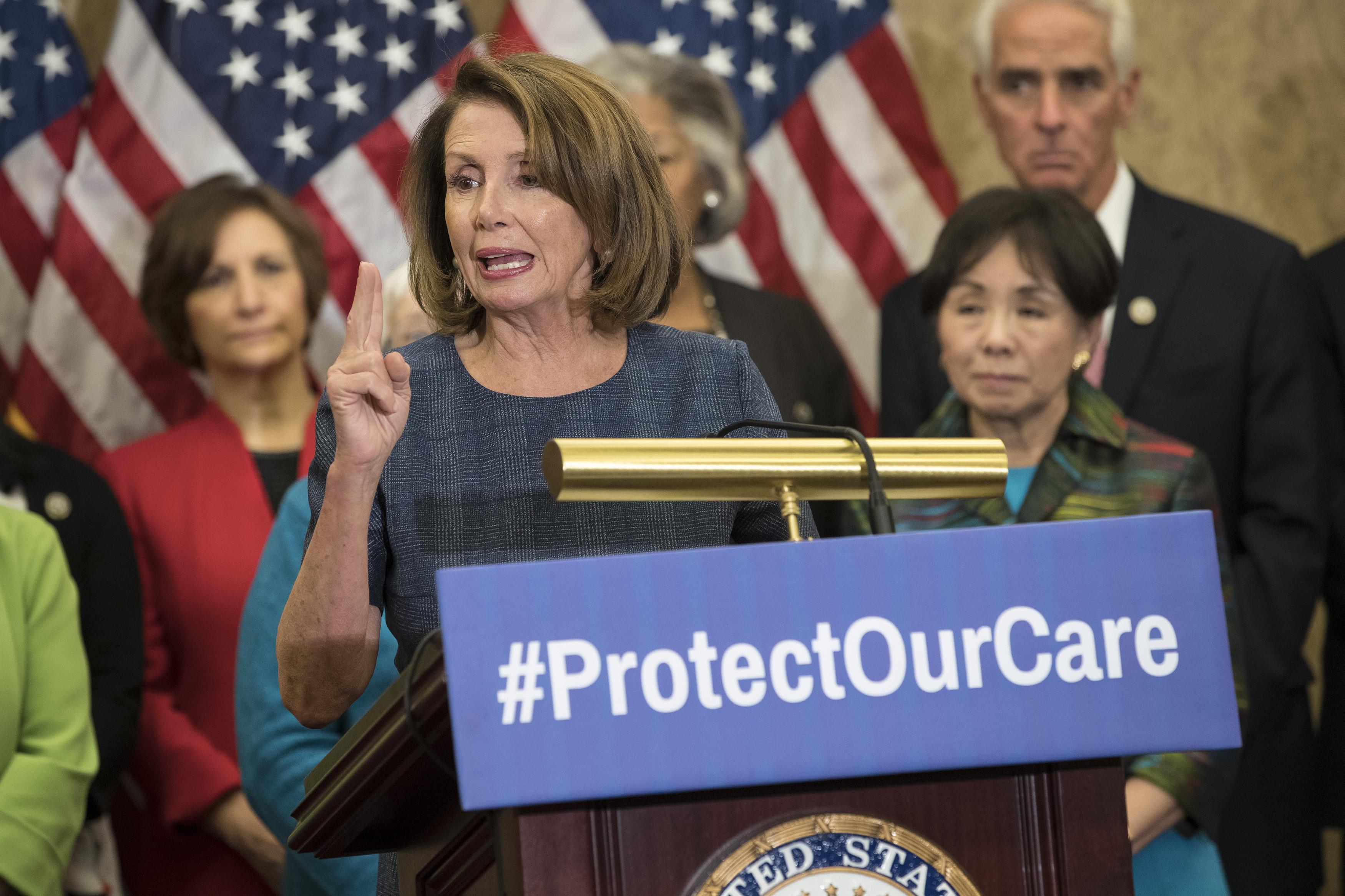 Nancy Pelosi Democratic Reps Discuss Harm Caused By Repealing ACA