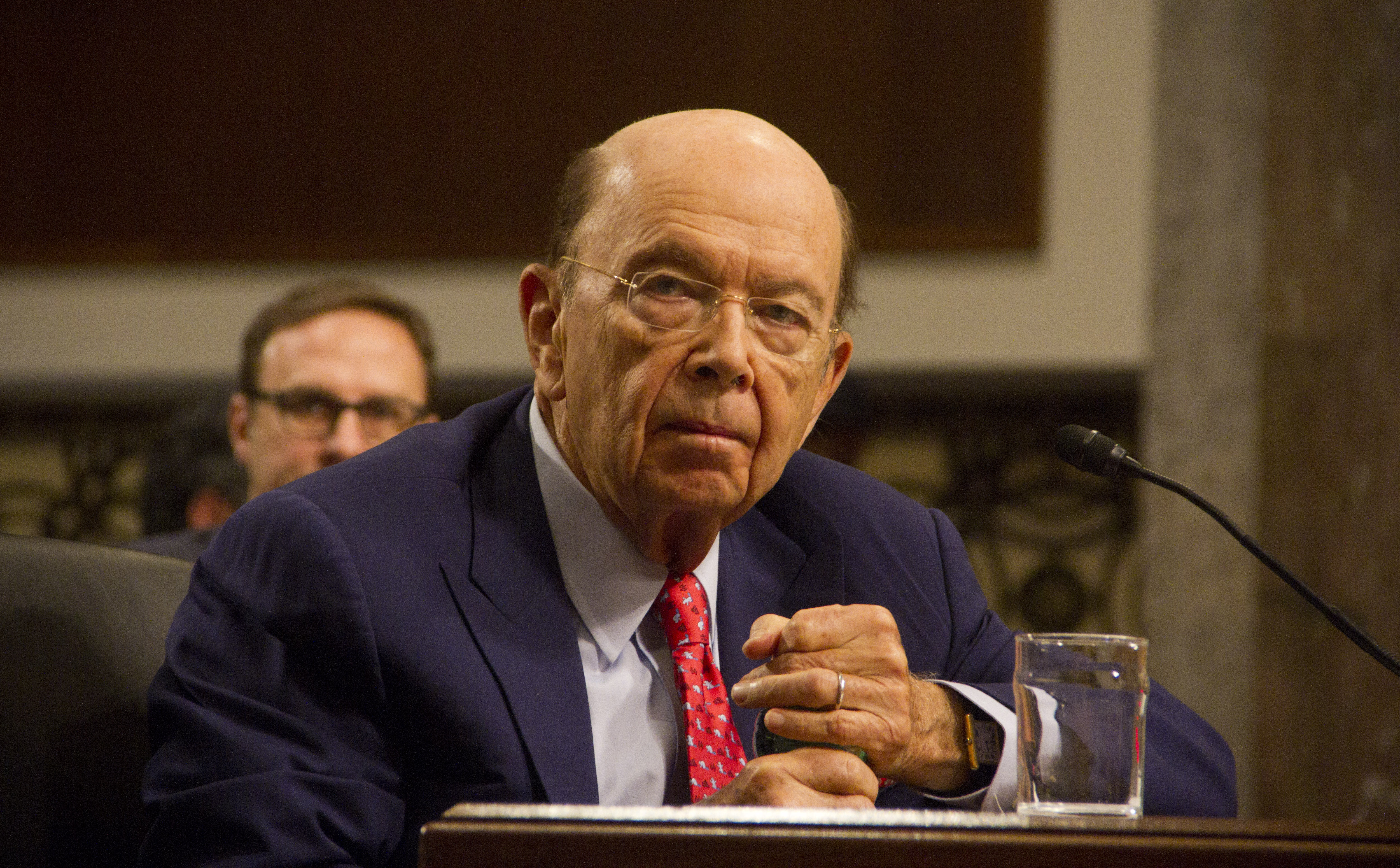 Wilbur Ross, picked by President-elect Donald Trump to serve