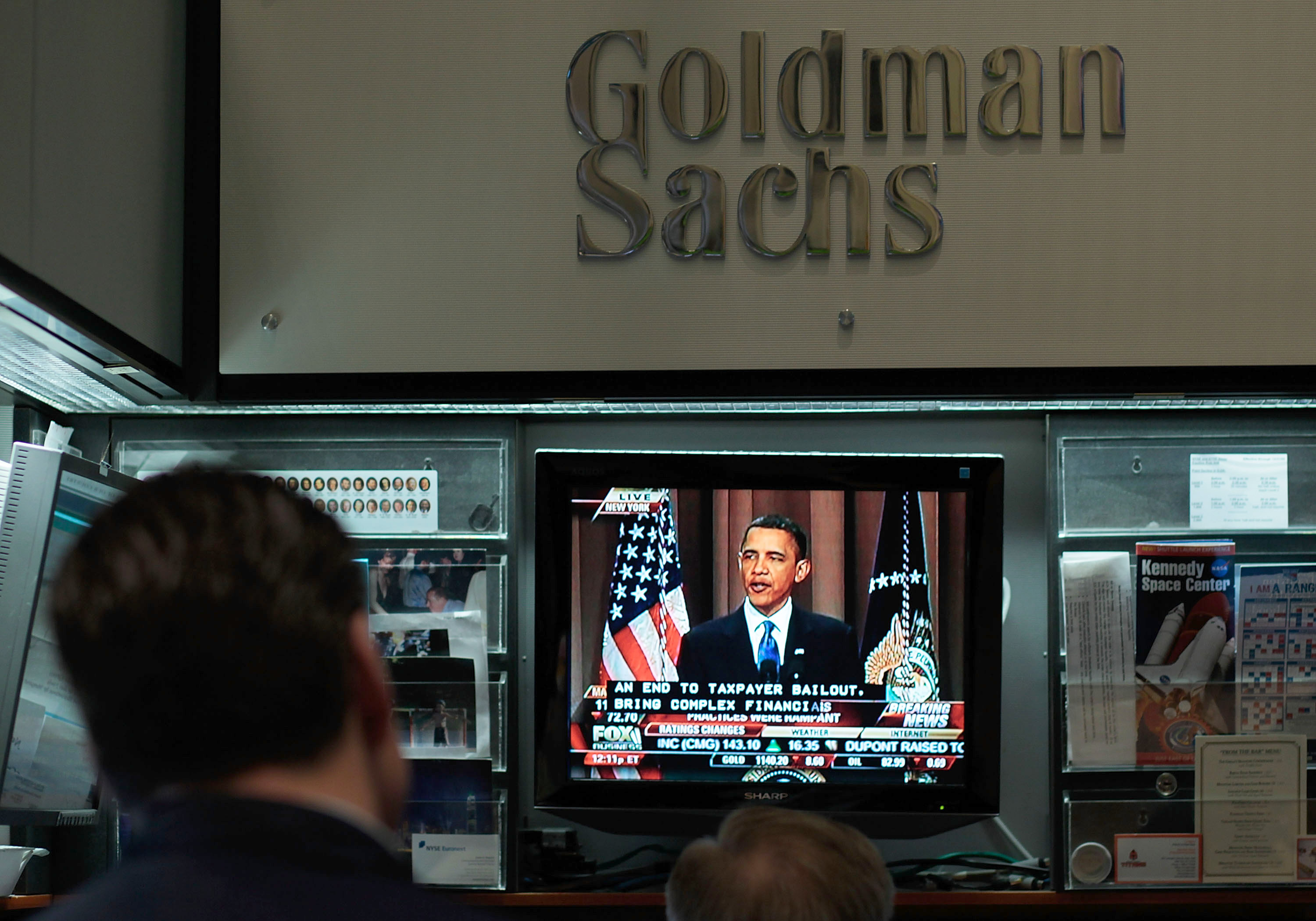 Wall Street Reacts To Obama Remarks On Regulatory Reform