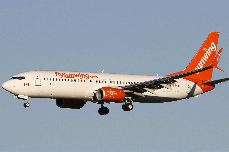 Sunwing Airlines, Boeing 737