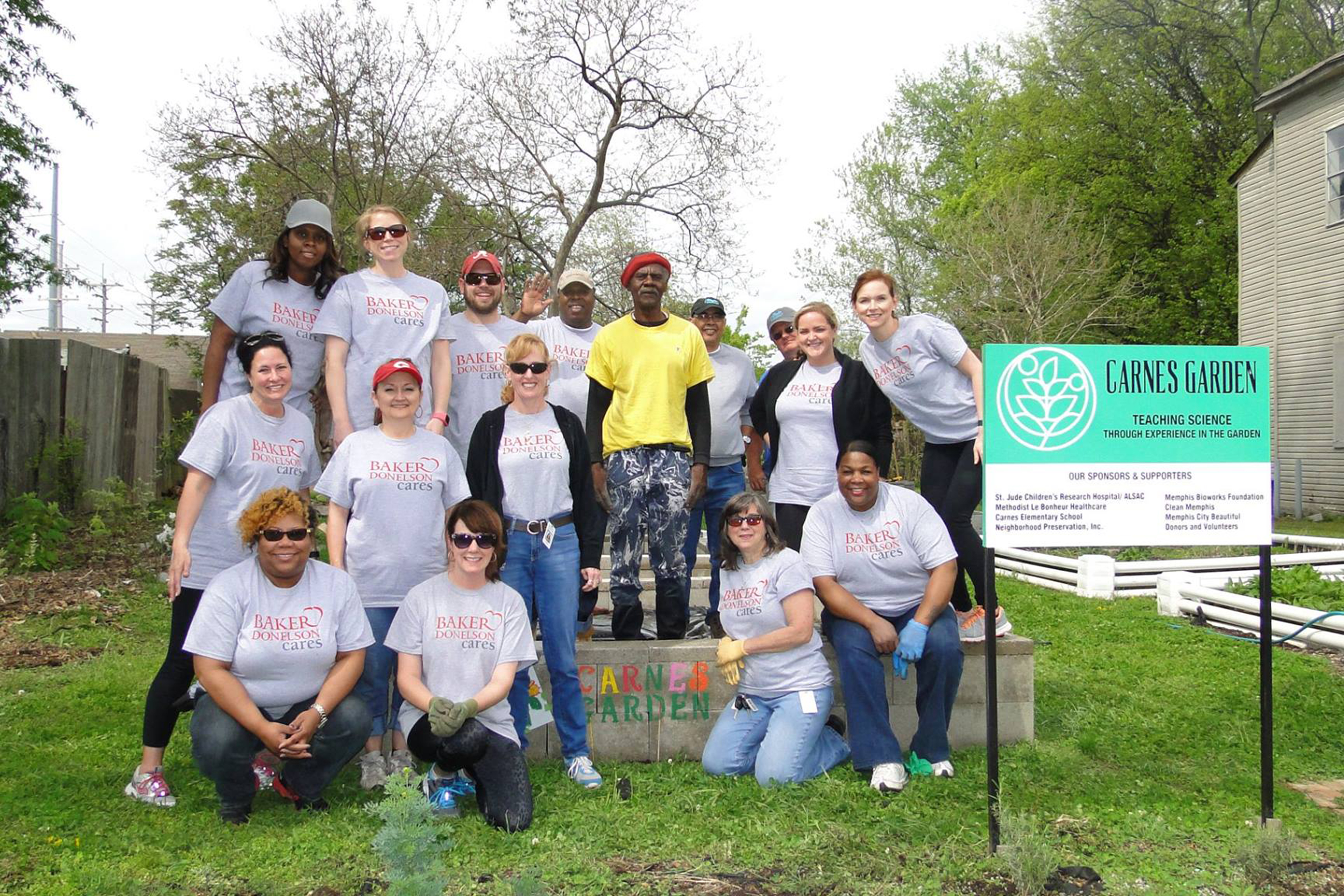 Best Workplaces for Giving Back 2017- Baker Donelson