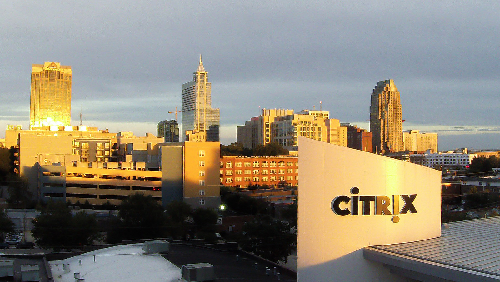 Citrix office in Raleigh, NC.