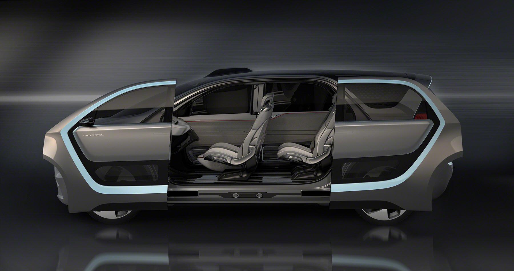 FCA's Chrysler Portal Concept.