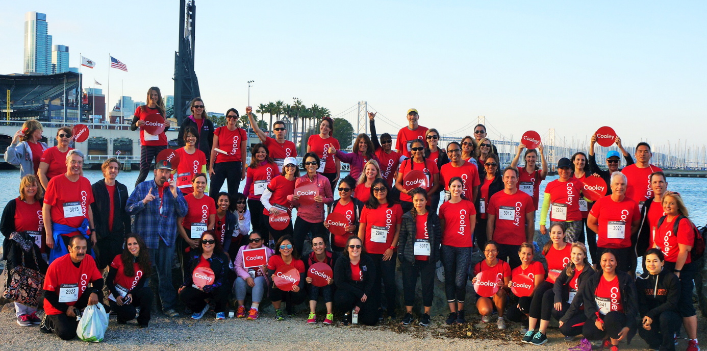 Best Workplaces for Giving Back 2017- Cooley