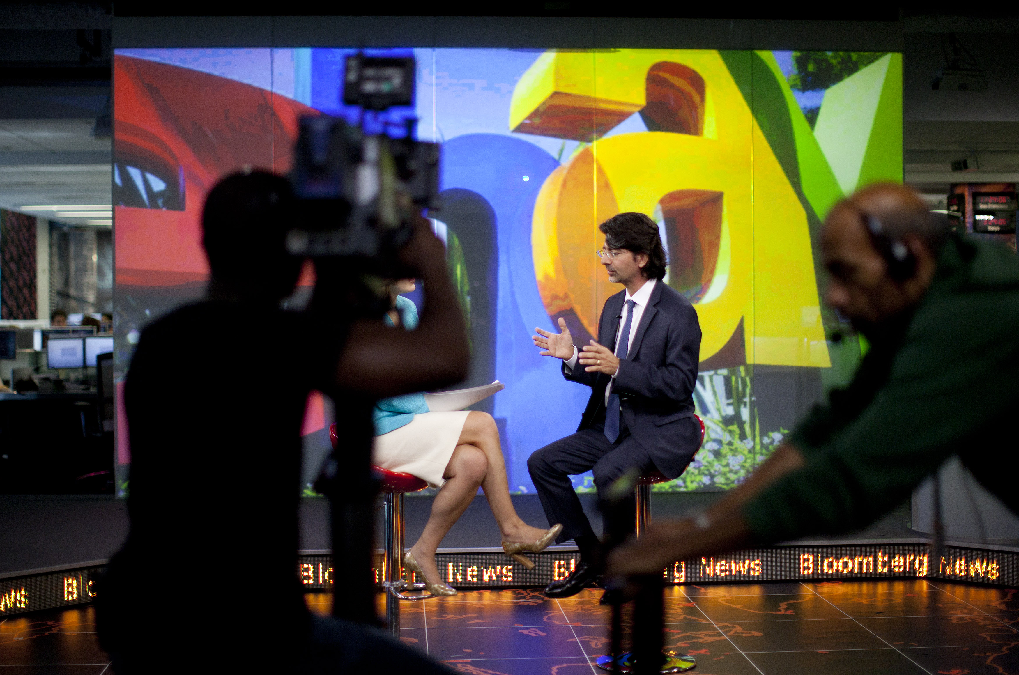 Ebay Inc. Chairman And Founder Omidyar Television Interview