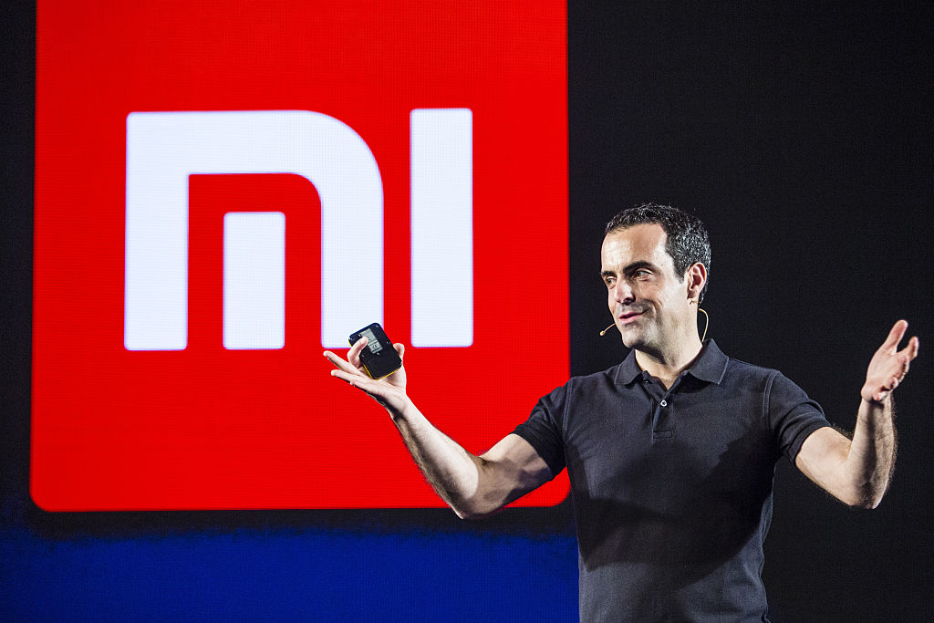 Xiaomi Corp. Vice President Of Global Operations Hugo Barra Launches The Mi 5 Smartphone In India