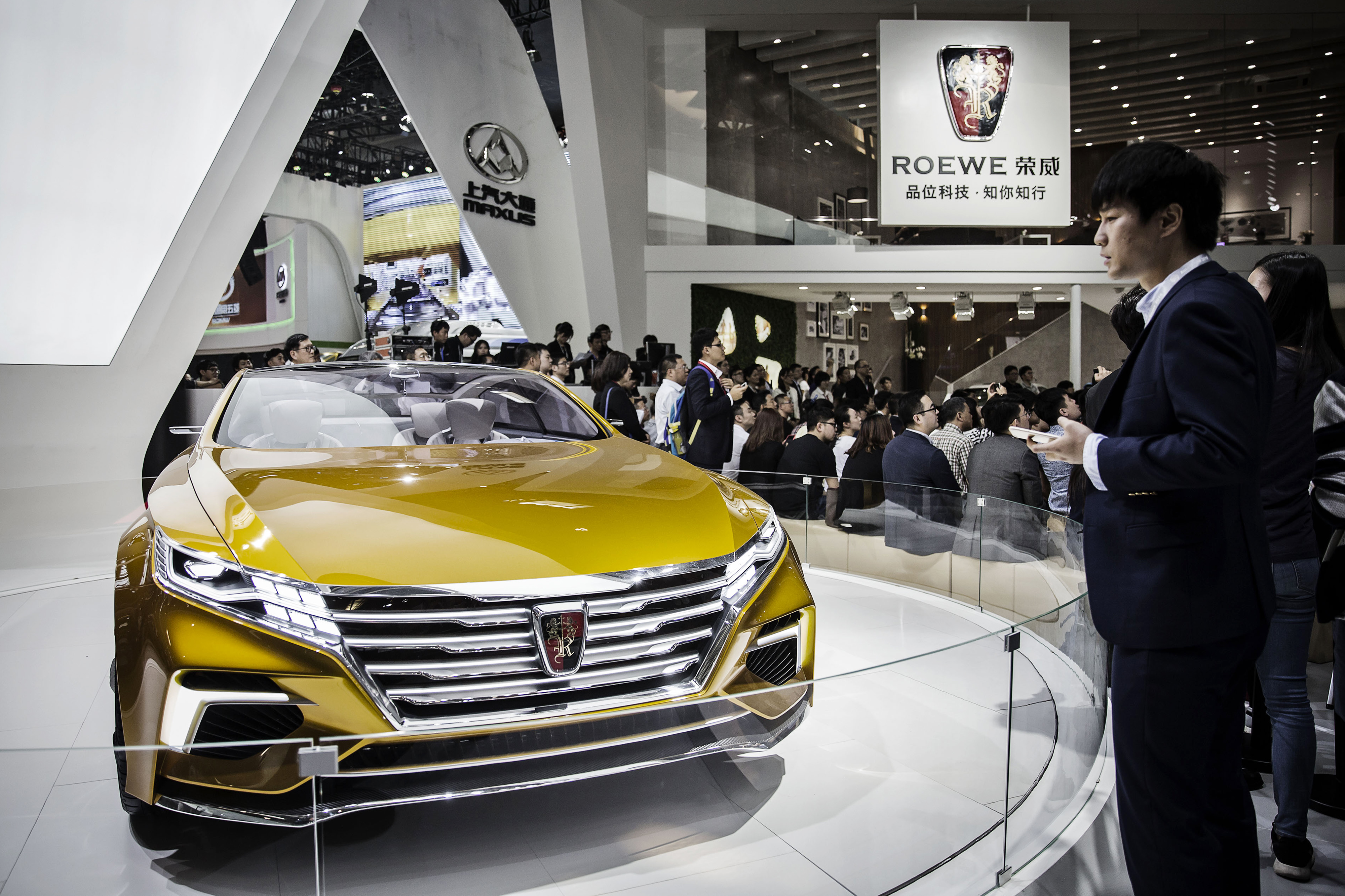Inside The Beijing International Automotive Exhibition