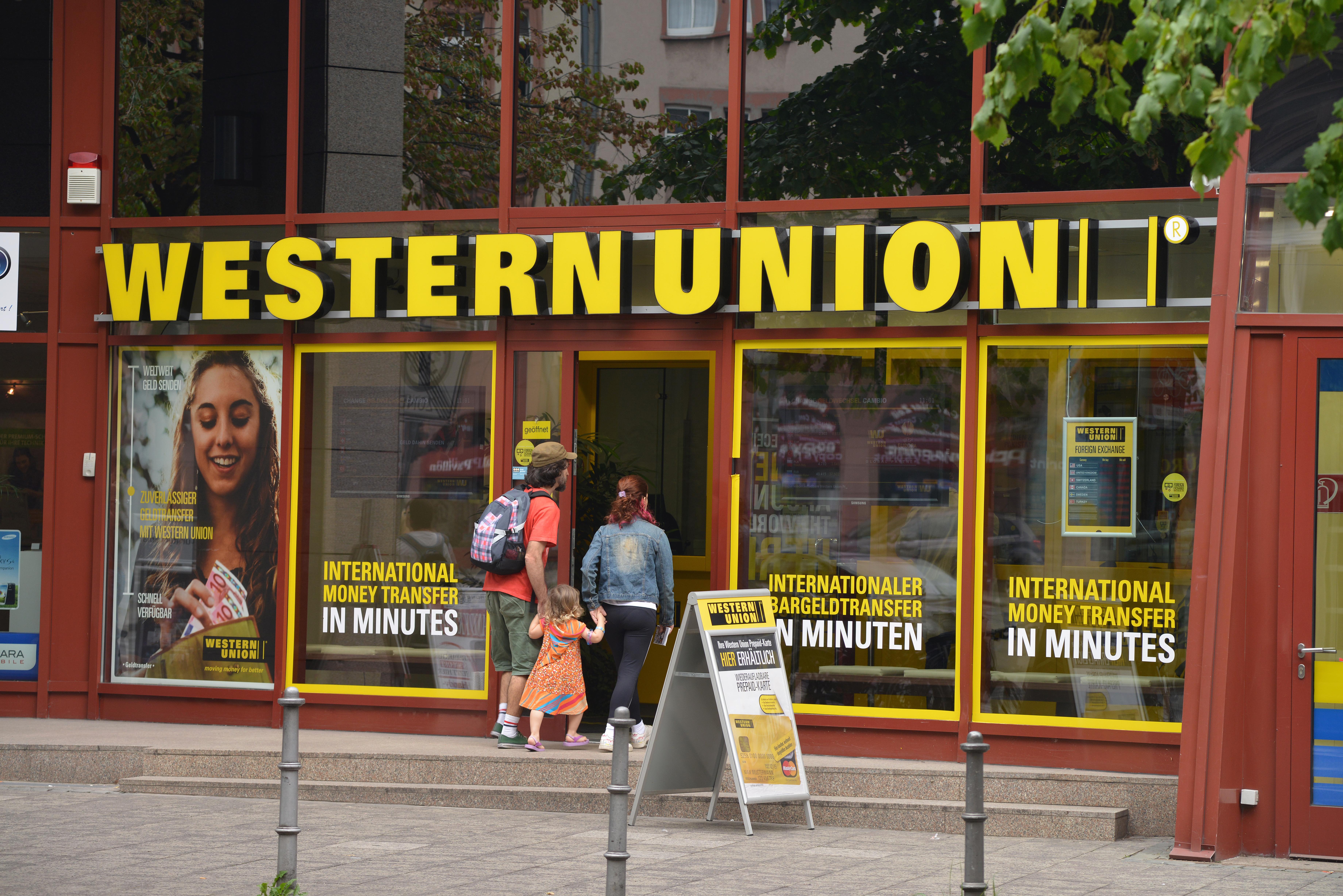 Bank Western Union Frankfurt am Main Deutschland