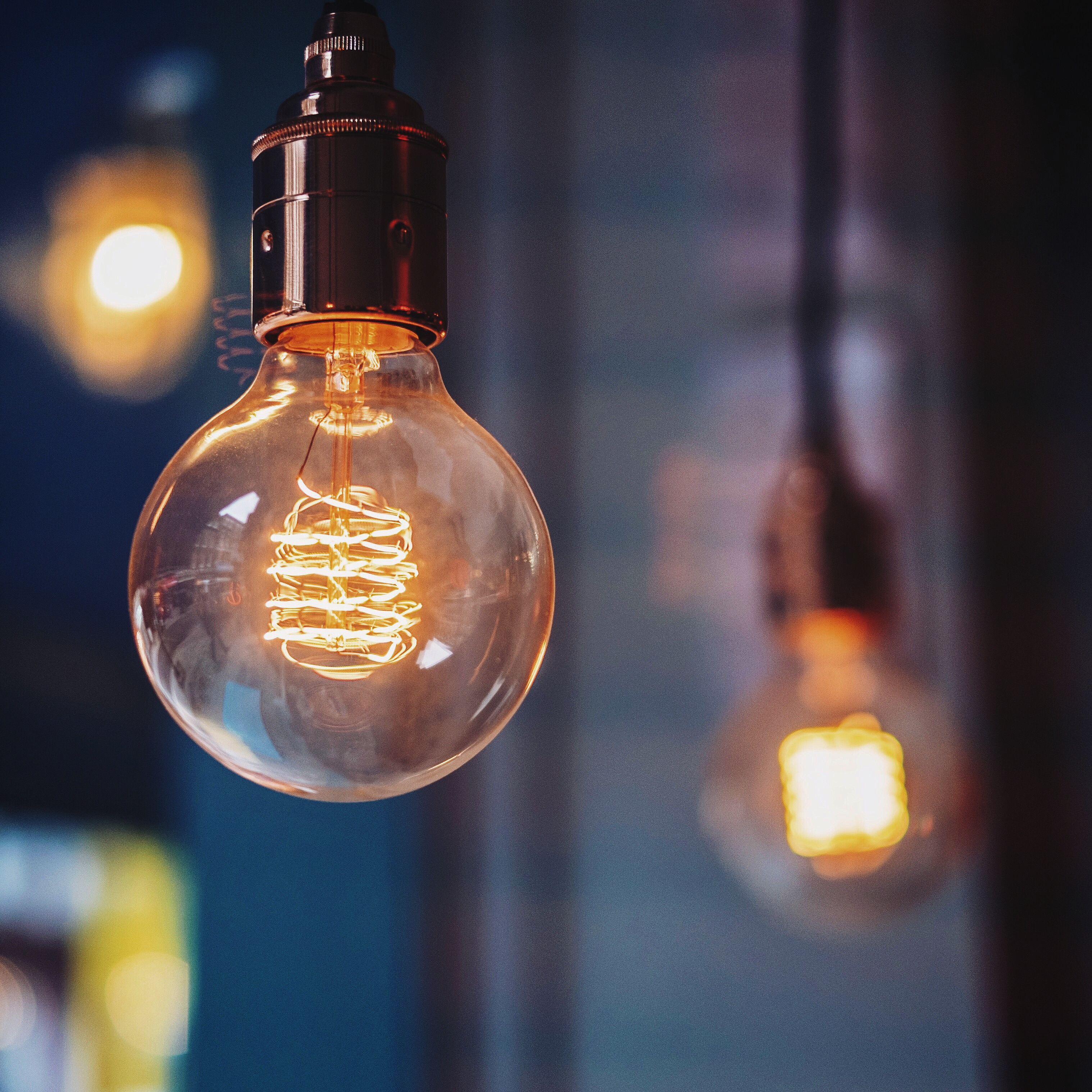 Close-Up View Of Light Bulb