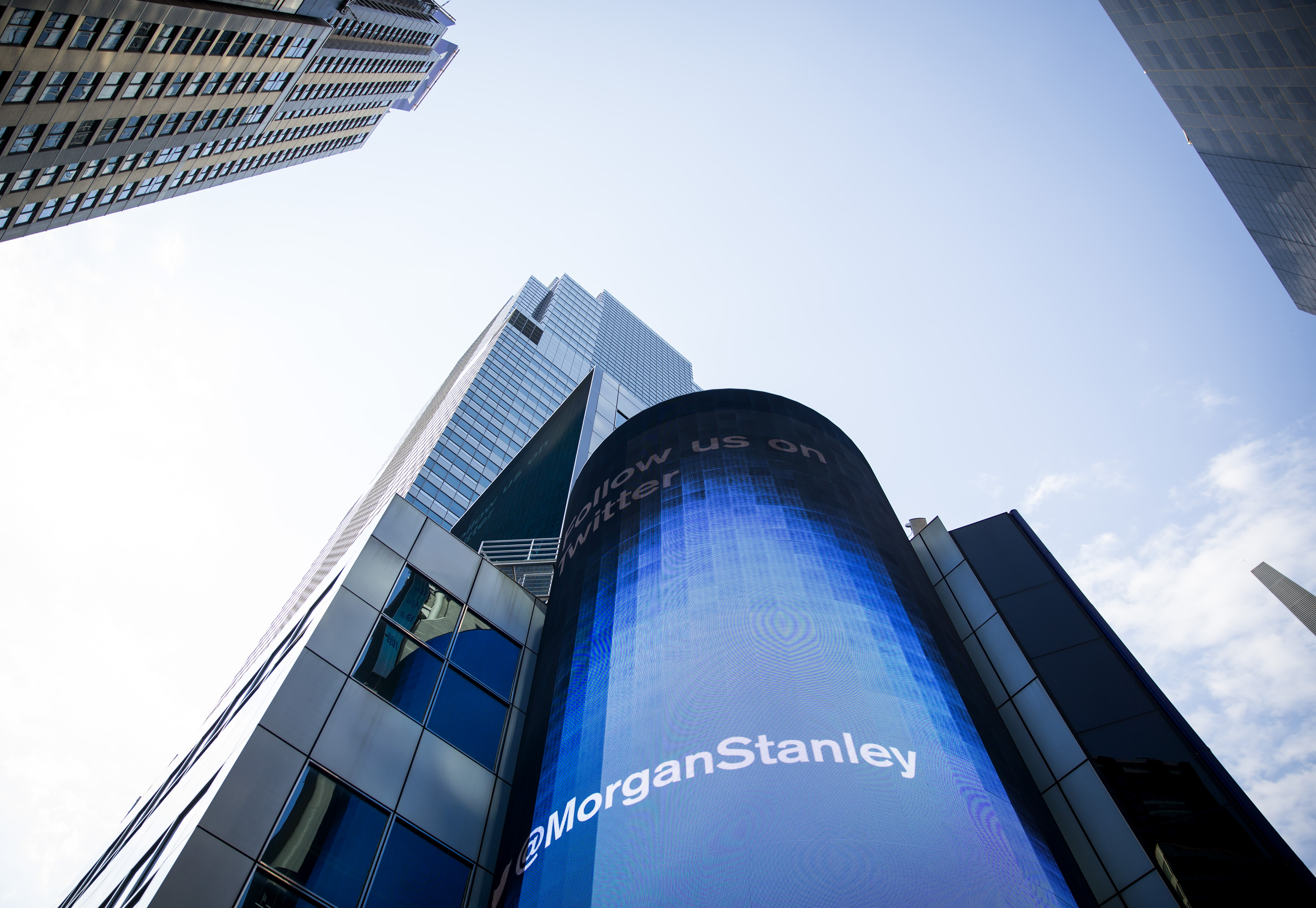 Morgan Stanley Teams With Tech to Improve Wealth Management Business