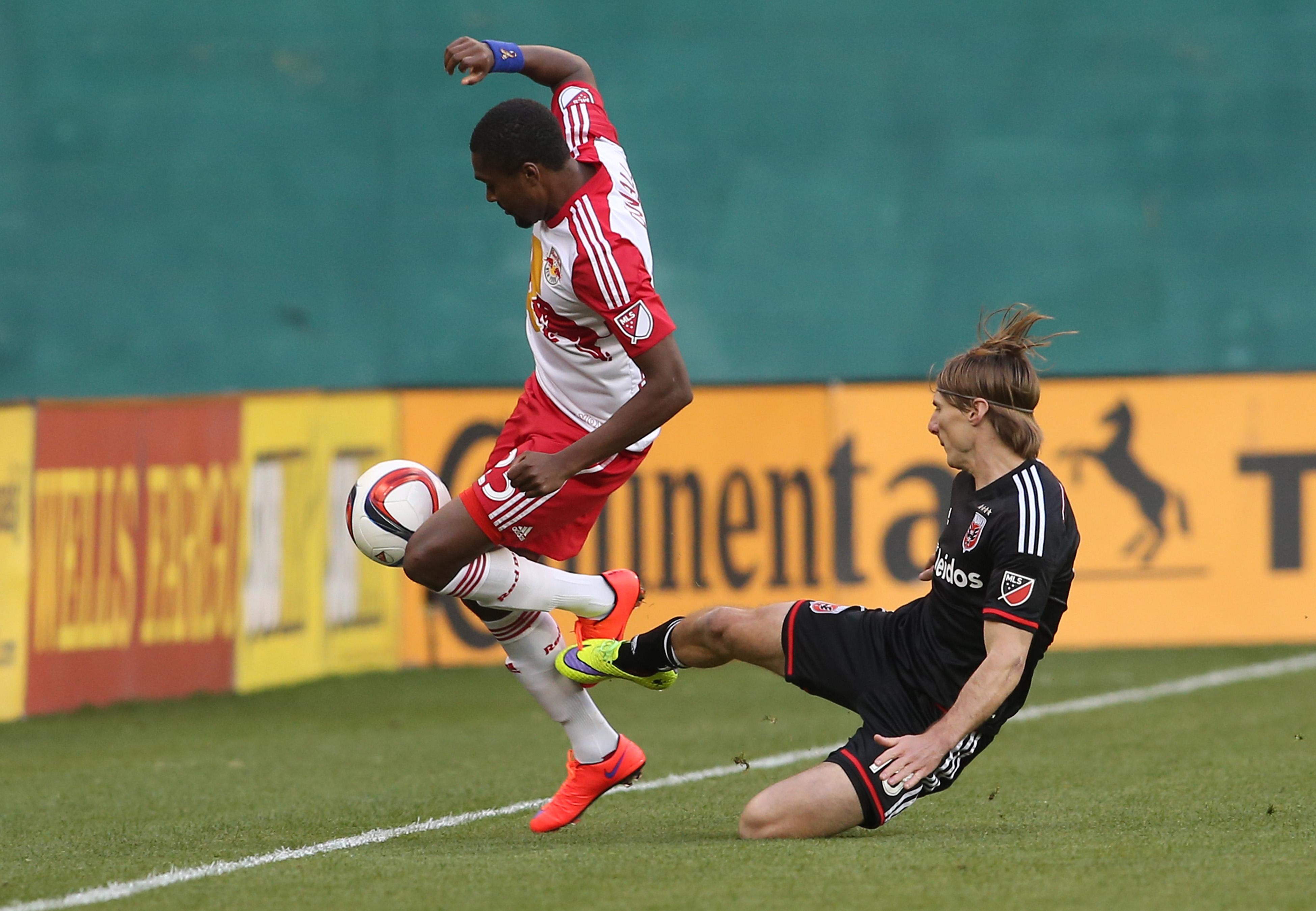 SOCCER: APR 11 MLS - Redbulls at United